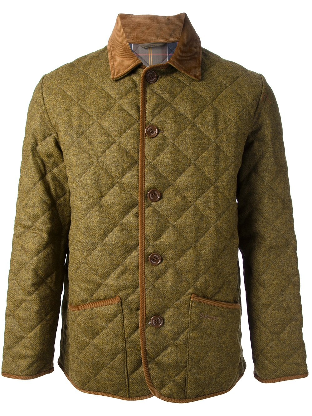 Lyst Barbour Quilted Jacket In Natural For Men