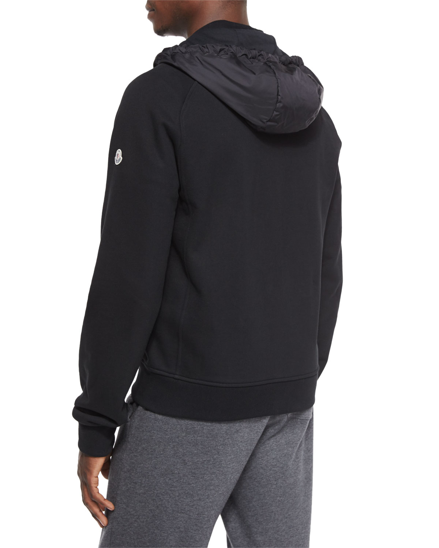 black moncler zipper