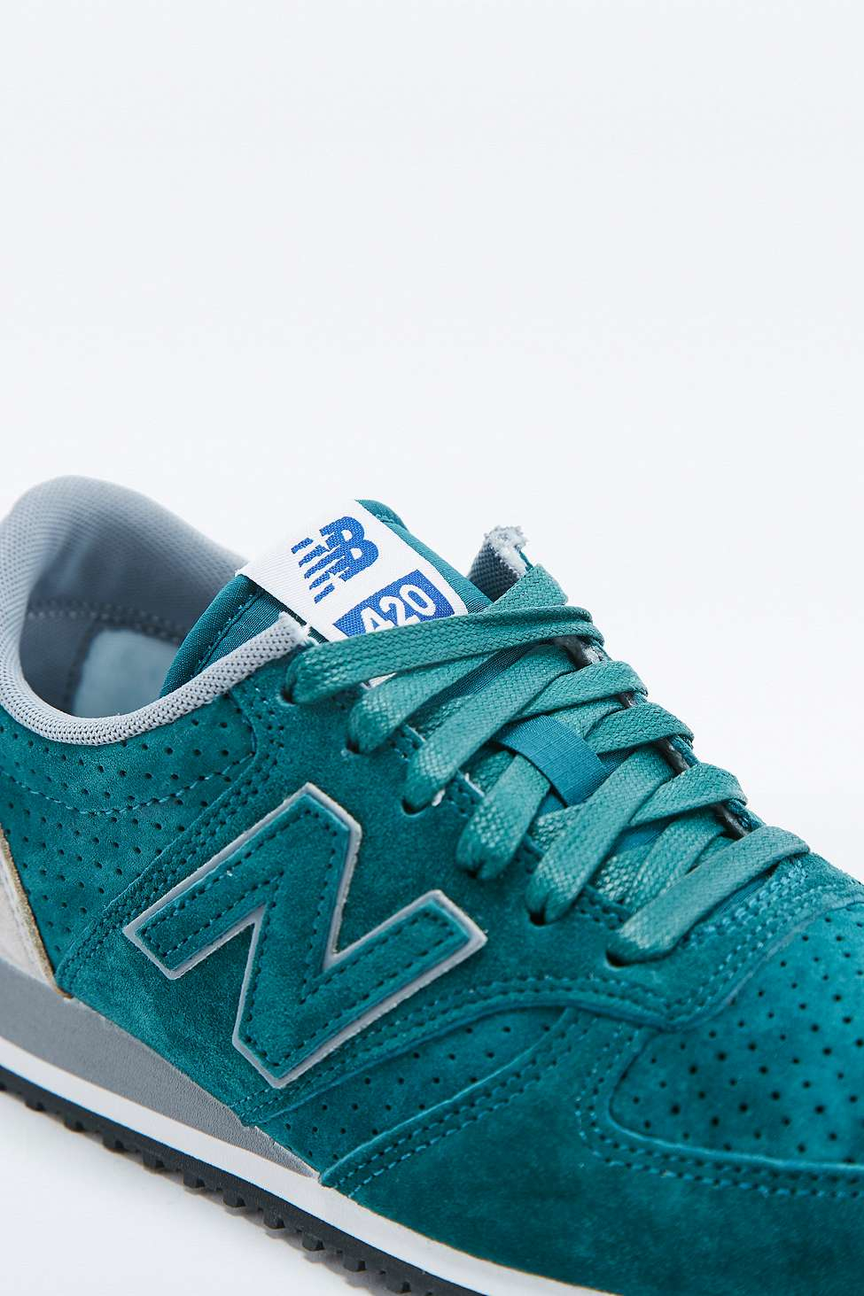 new balance 420 blue and green