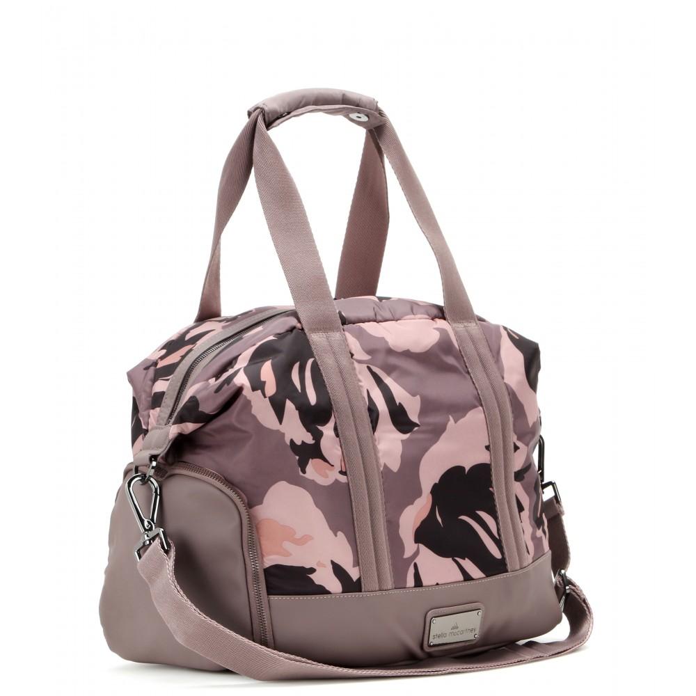 adidas By Stella McCartney Small Gym Bag in Pink - Lyst 22b6281585