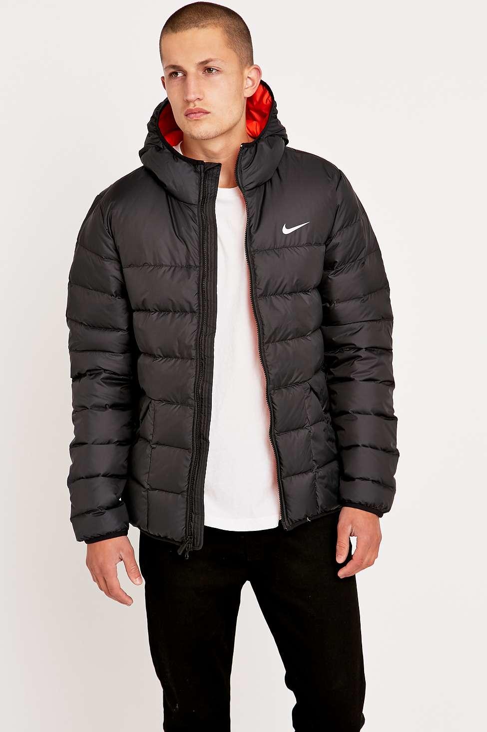 106ca26acc36 Men S Nike Black Padded Jacket - Image Of Jacket
