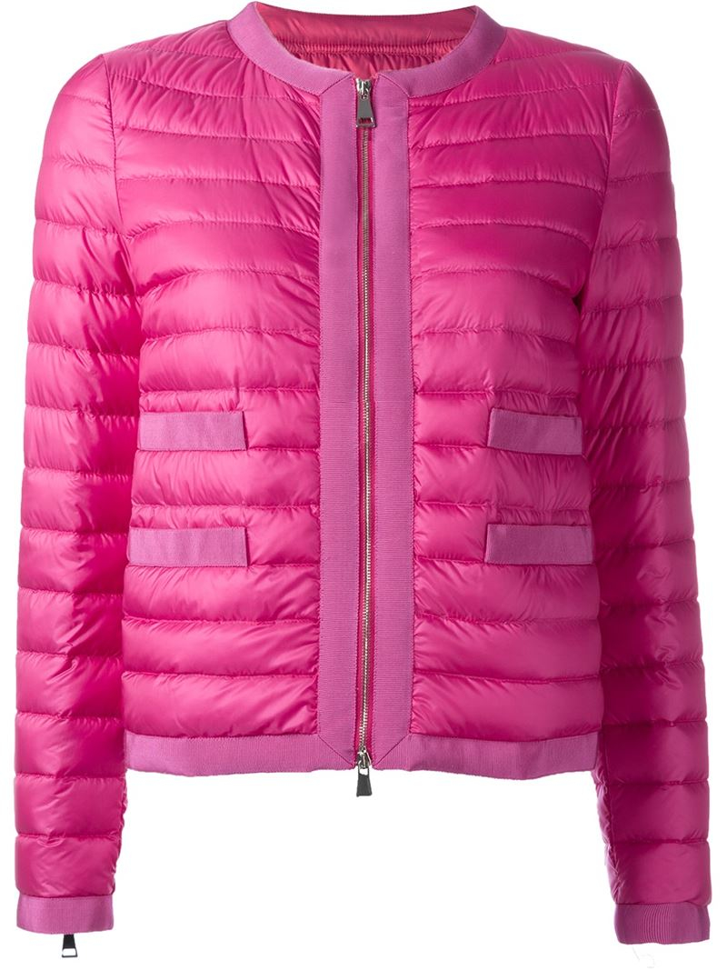 Moncler Alose Padded Jacket In Pink Lyst