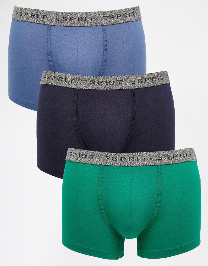 calvin klein stripe underwear trunks in multicolor for men. Black Bedroom Furniture Sets. Home Design Ideas