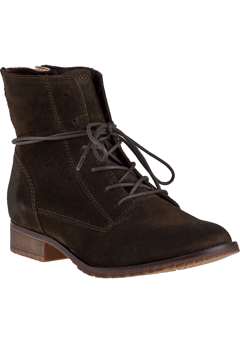 steve madden rawlings ankle boot olive suede in green lyst