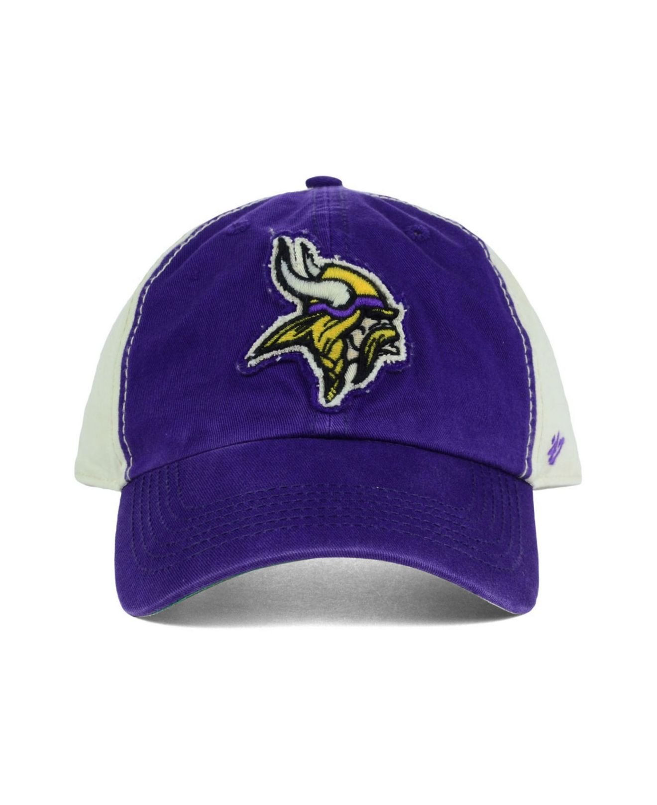 0fec2fc7 Lyst - 47 Brand Minnesota Vikings Nfl Derby Clean Up Cap in Purple ...