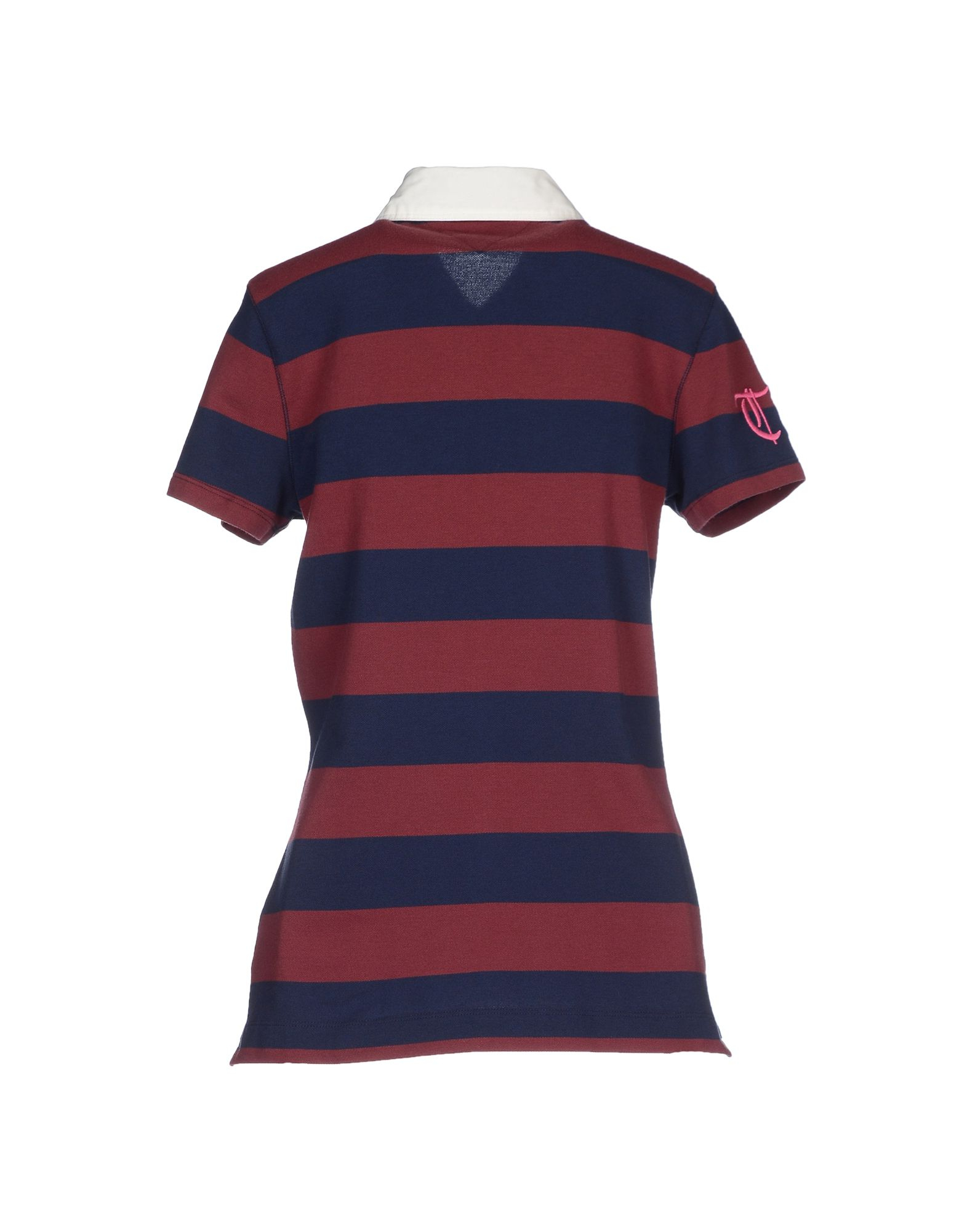lyst tommy hilfiger polo shirt in purple. Black Bedroom Furniture Sets. Home Design Ideas
