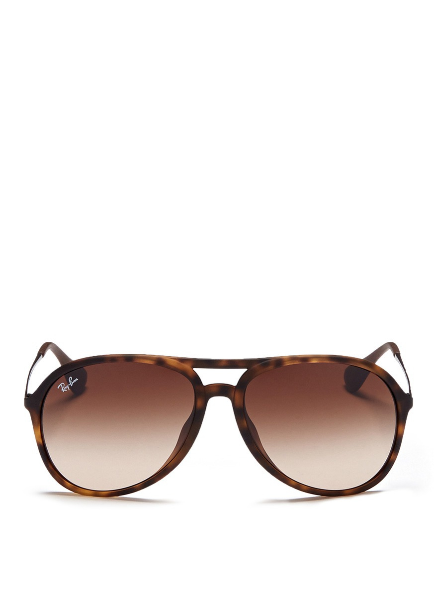 Ray Ban Aviators Tortoise Shell Money In The Banana Stand