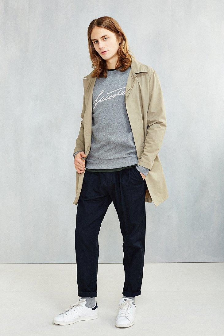 Lacoste Tribute To Rene Sweatshirt in Gray for Men