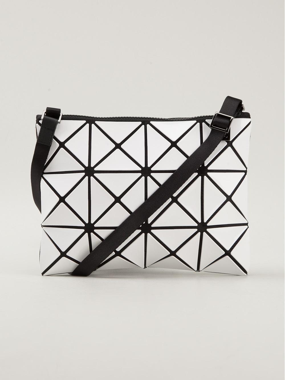 1139603c9906 Lyst - Bao Bao Issey Miyake Crossbody Bag in Black