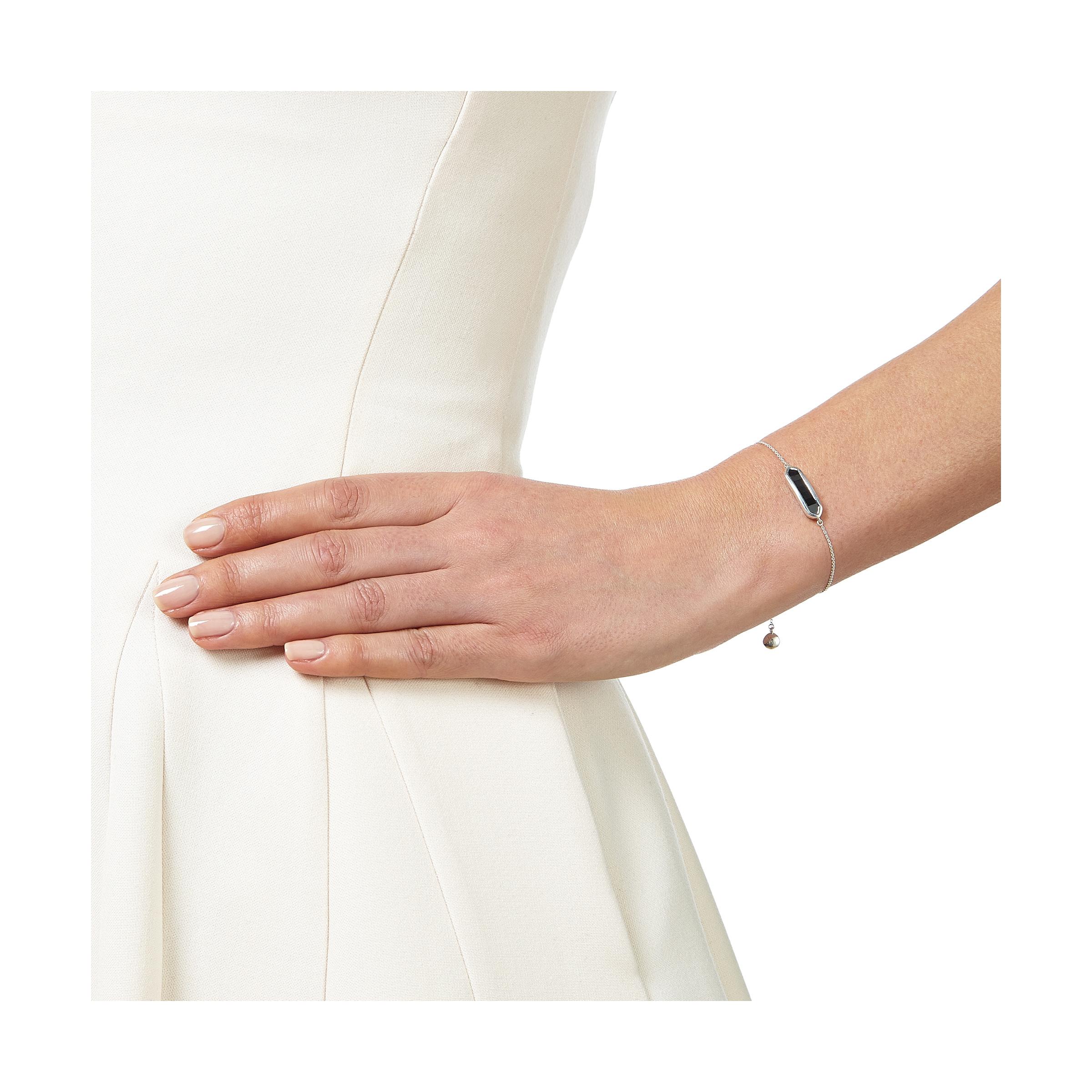 bbd146250a9be Lyst - Monica Vinader Baja Mini Bracelet in Metallic