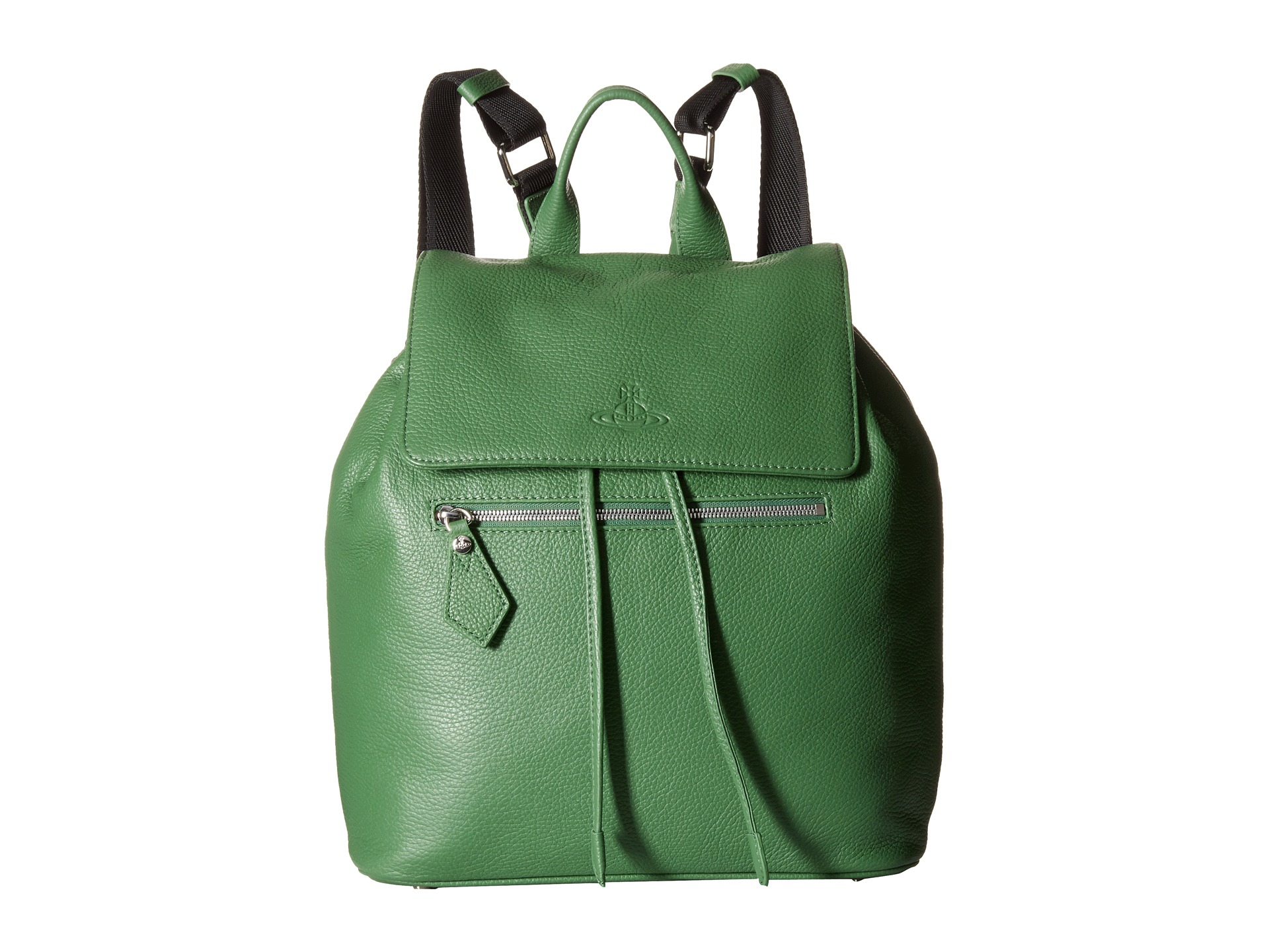Vivienne westwood Leather Backpack in Green for Men | Lyst