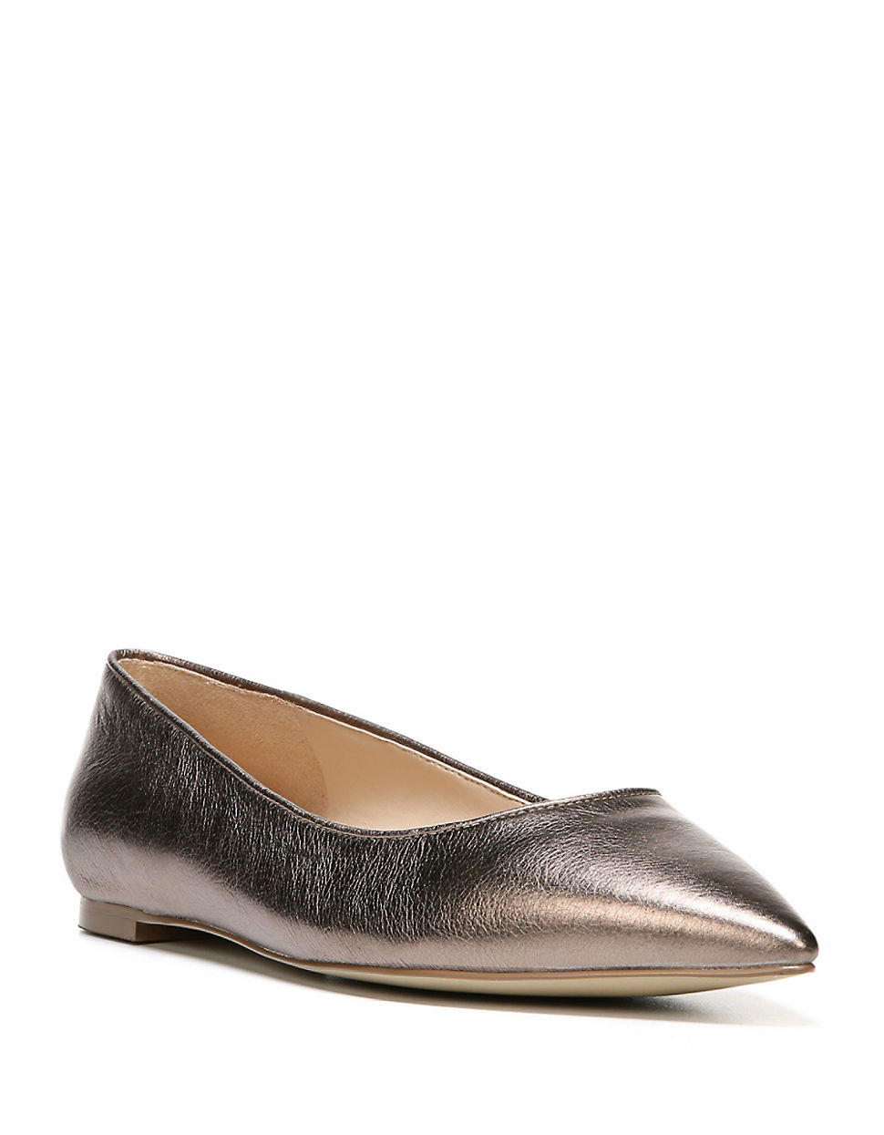 Pewter Ballet Flats Shoes