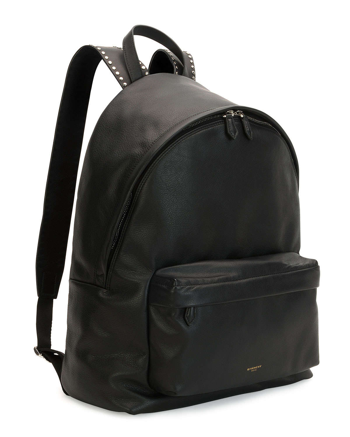 Lyst - Givenchy Studded Leather Backpack in Black for Men dce555a6cf
