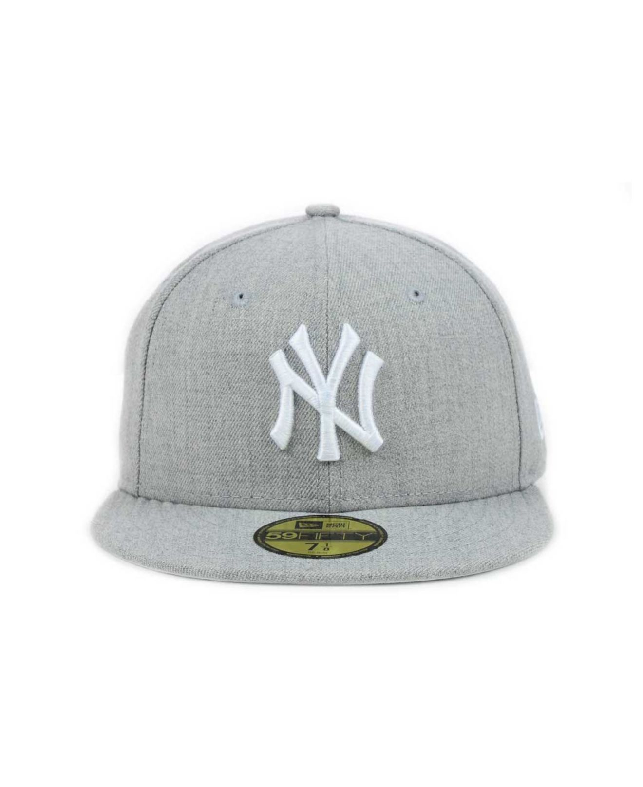 promo code 15933 e7e97 ... discount code for lyst ktz new york yankees mlb heather basic 59fifty  cap in gray 55f45