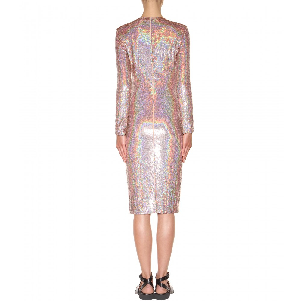 accfa1926b Givenchy Sequin Dress in Pink - Lyst