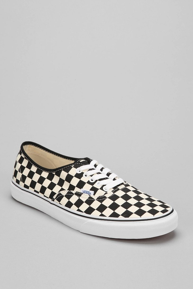 vans slip on checkerboard authentic