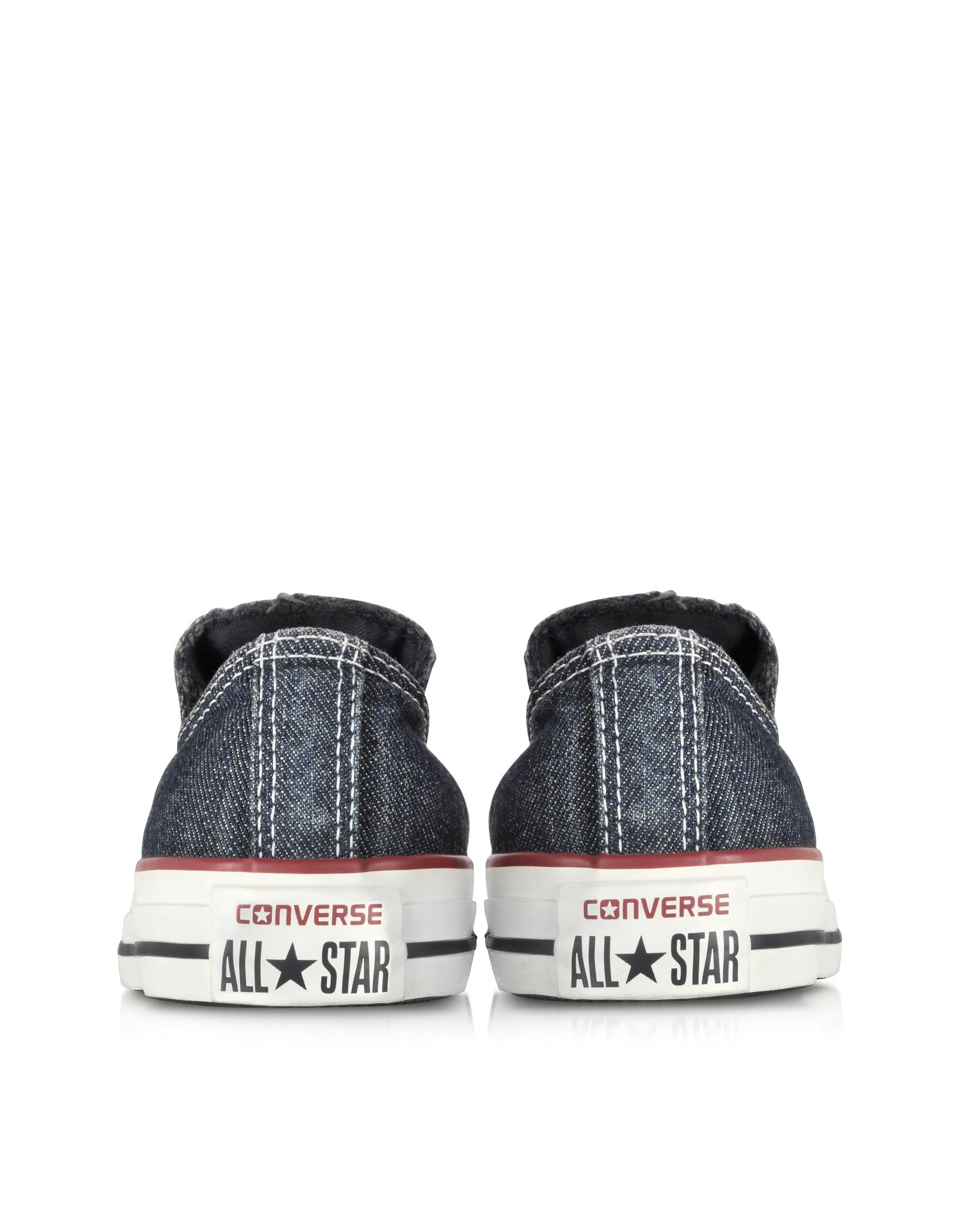 Lyst - Converse Chuck Taylor All Star Ox Denim Slip On Sneaker in ... fc22b98f4