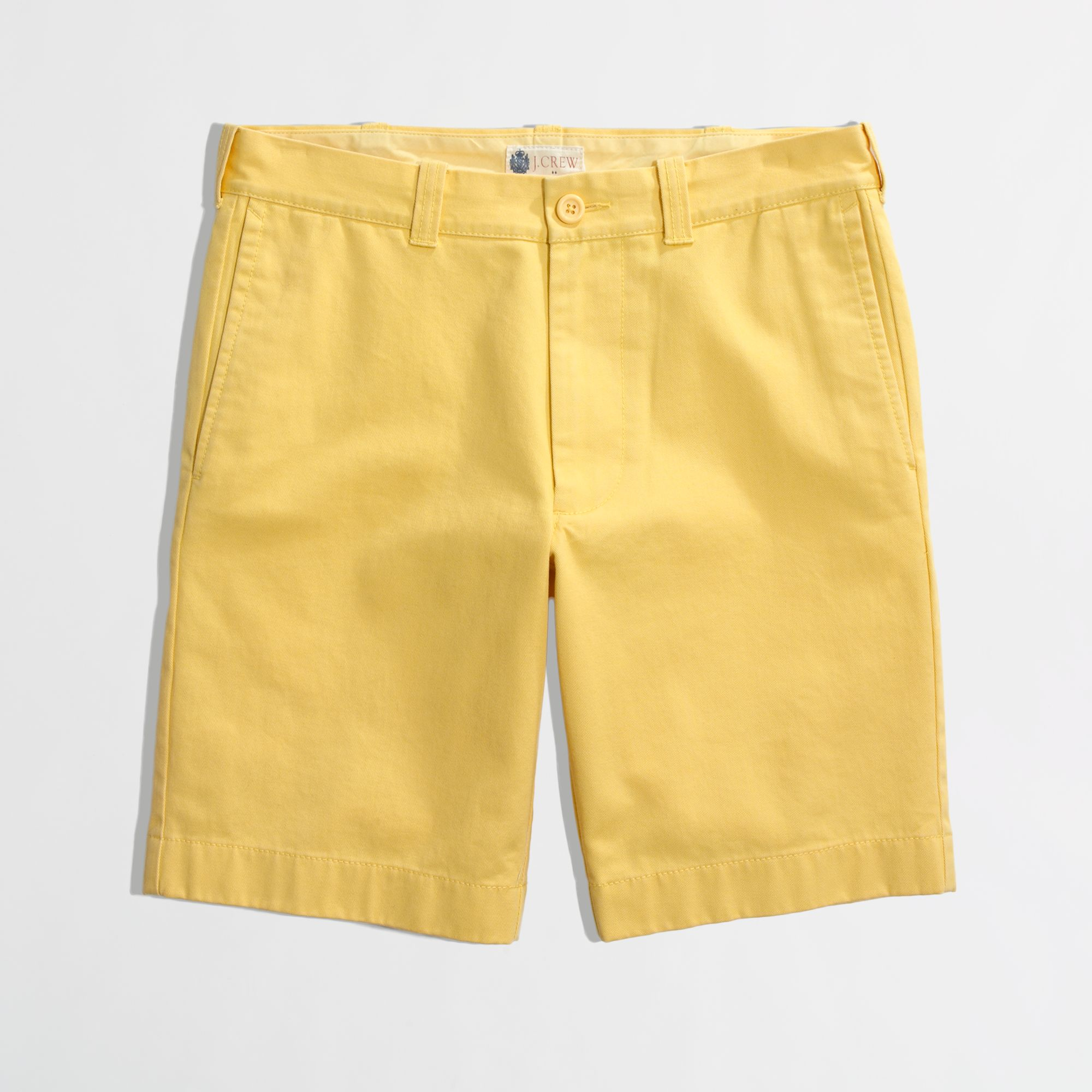 2a74e11cd26c0 Lyst - J.Crew Factory 9 Gramercy Short in Yellow for Men