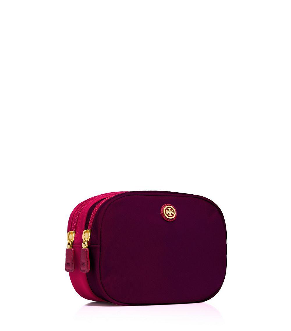 prada cross shoulder bag - prada nylon double-zip cosmetic case, imitation prada handbags