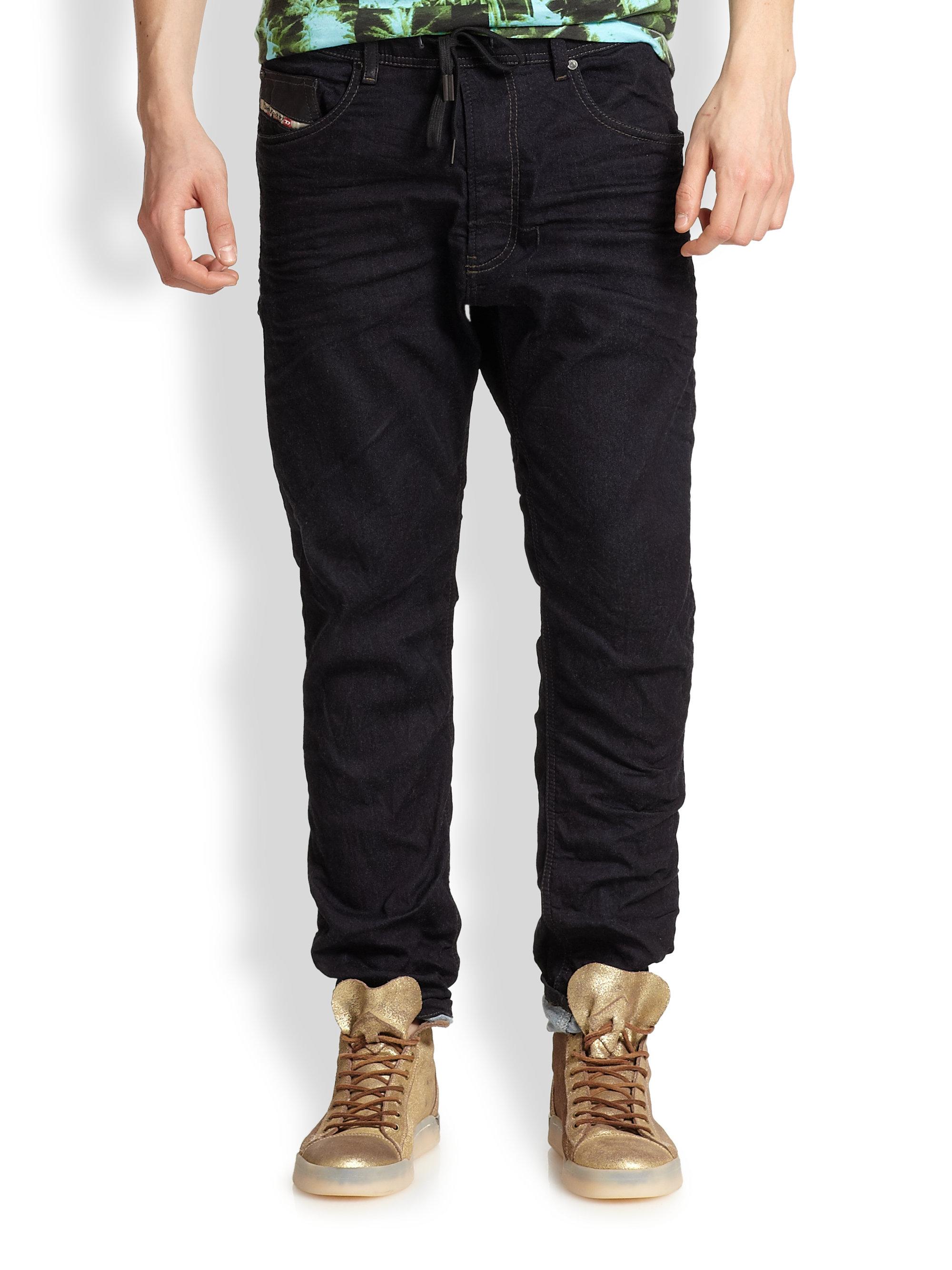 diesel narrot jogg jeans in blue for men lyst. Black Bedroom Furniture Sets. Home Design Ideas