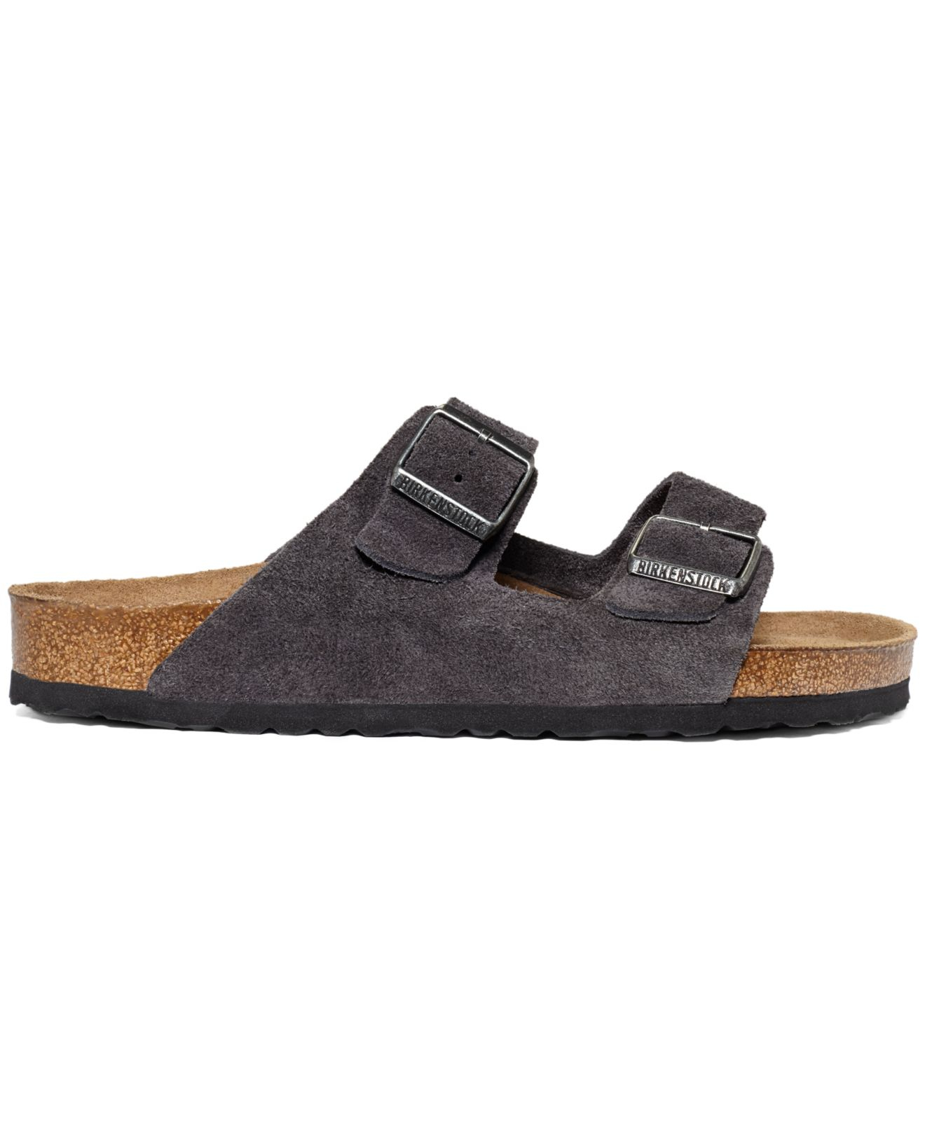Lyst Birkenstock Arizona Velvet Suede Soft Footbed