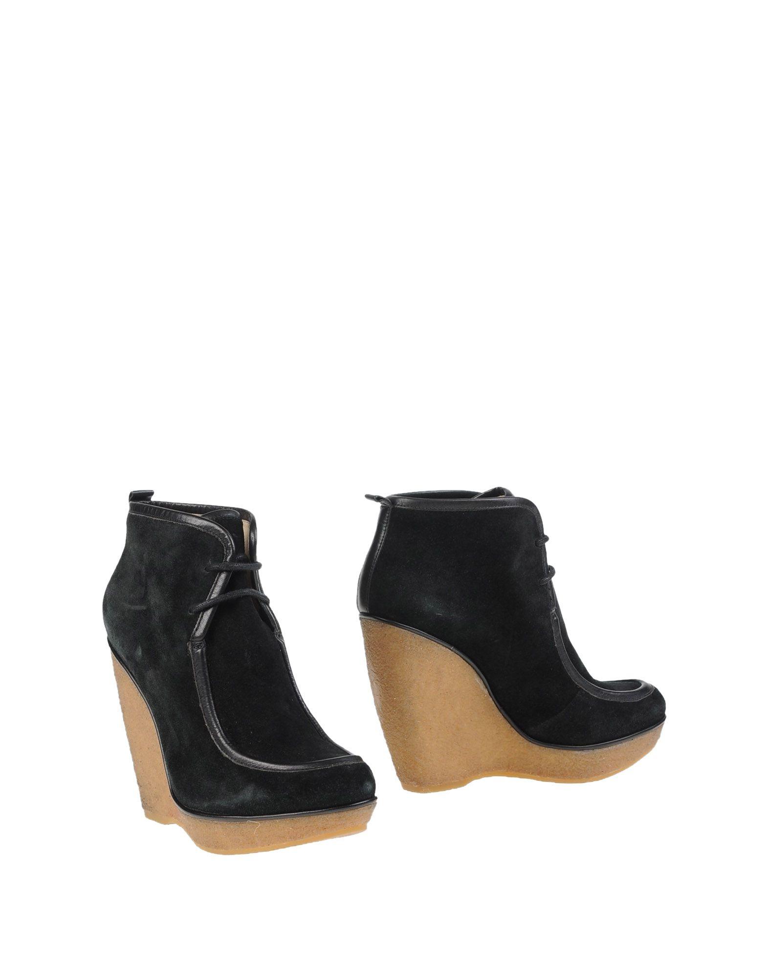 lyst kors by michael kors ankle boots in black. Black Bedroom Furniture Sets. Home Design Ideas