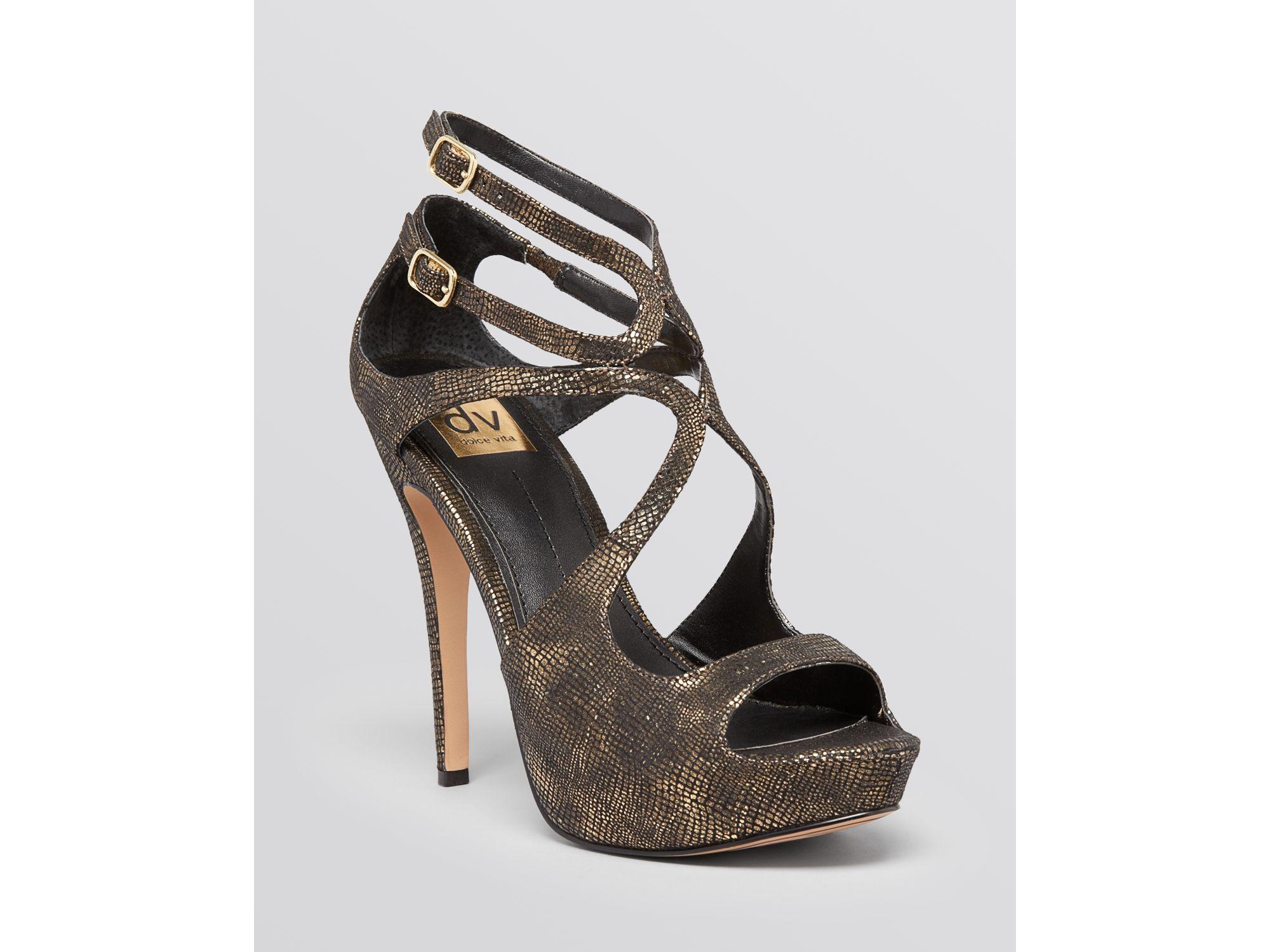 Dark Gold High Heels
