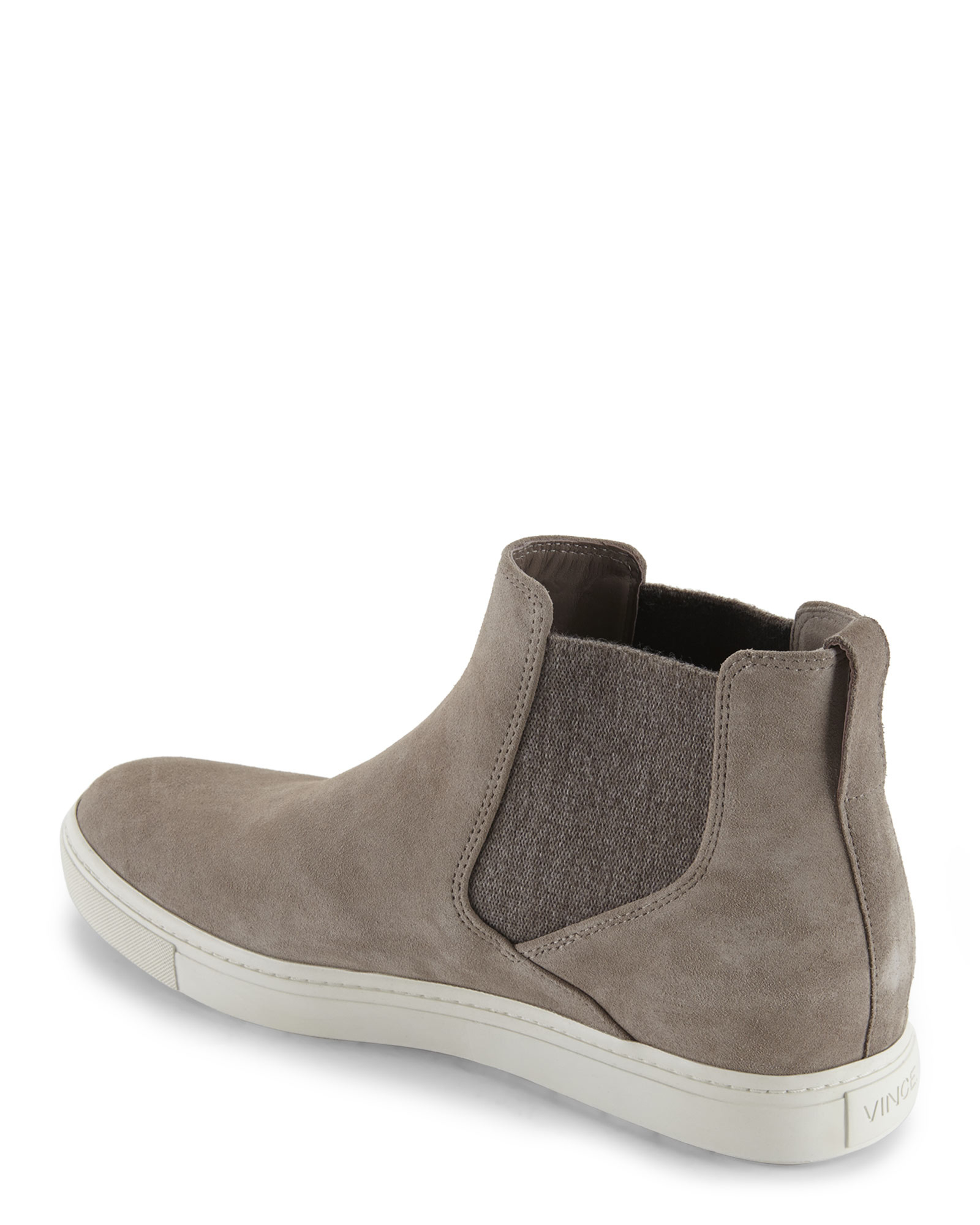 e6bdd3cf098d Vince New Stone High Top Slip-On Sneakers in Natural