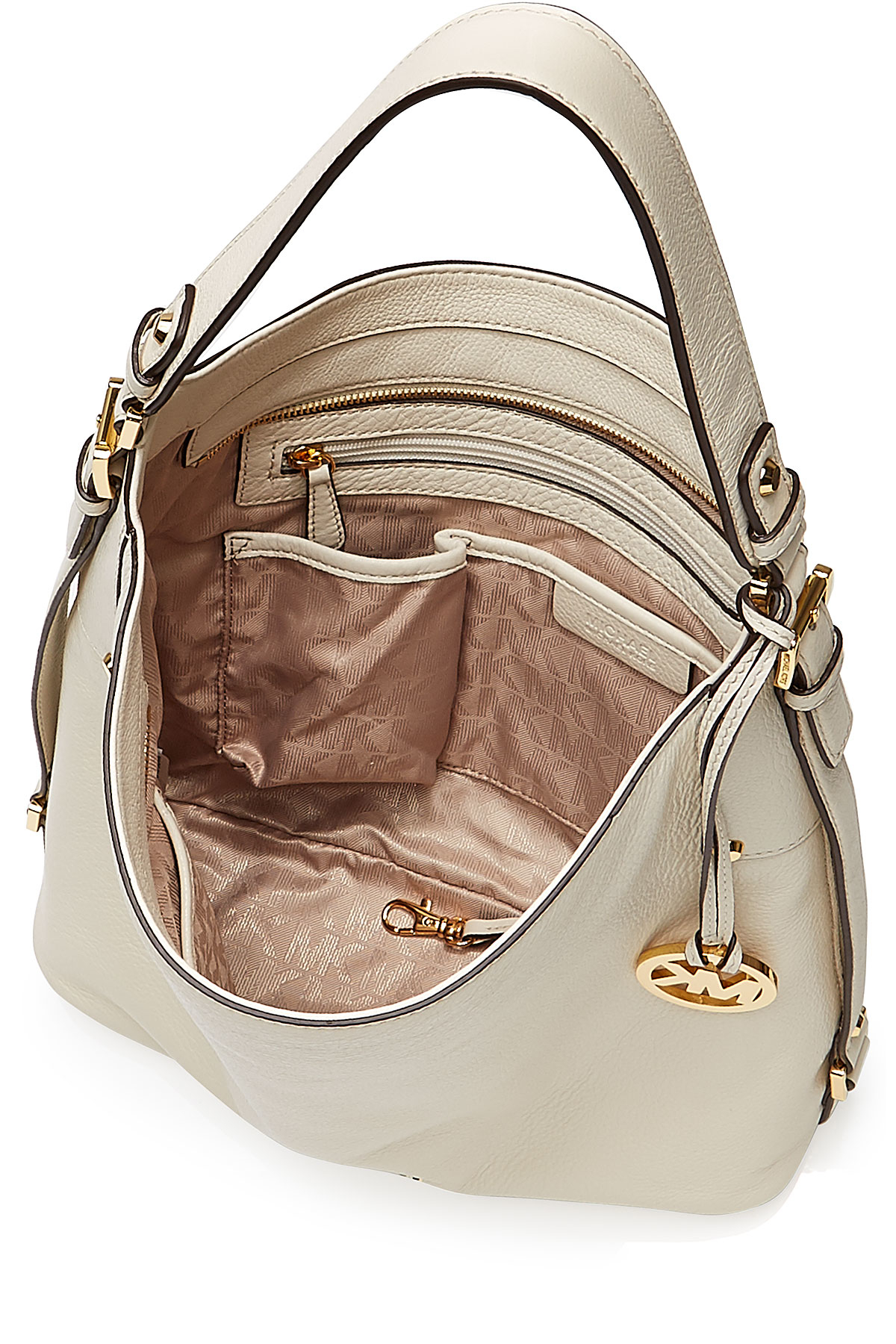 127bab9f6118ef ... shopping lyst michael michael kors bedford large leather shoulder bag  de0ed a8c58