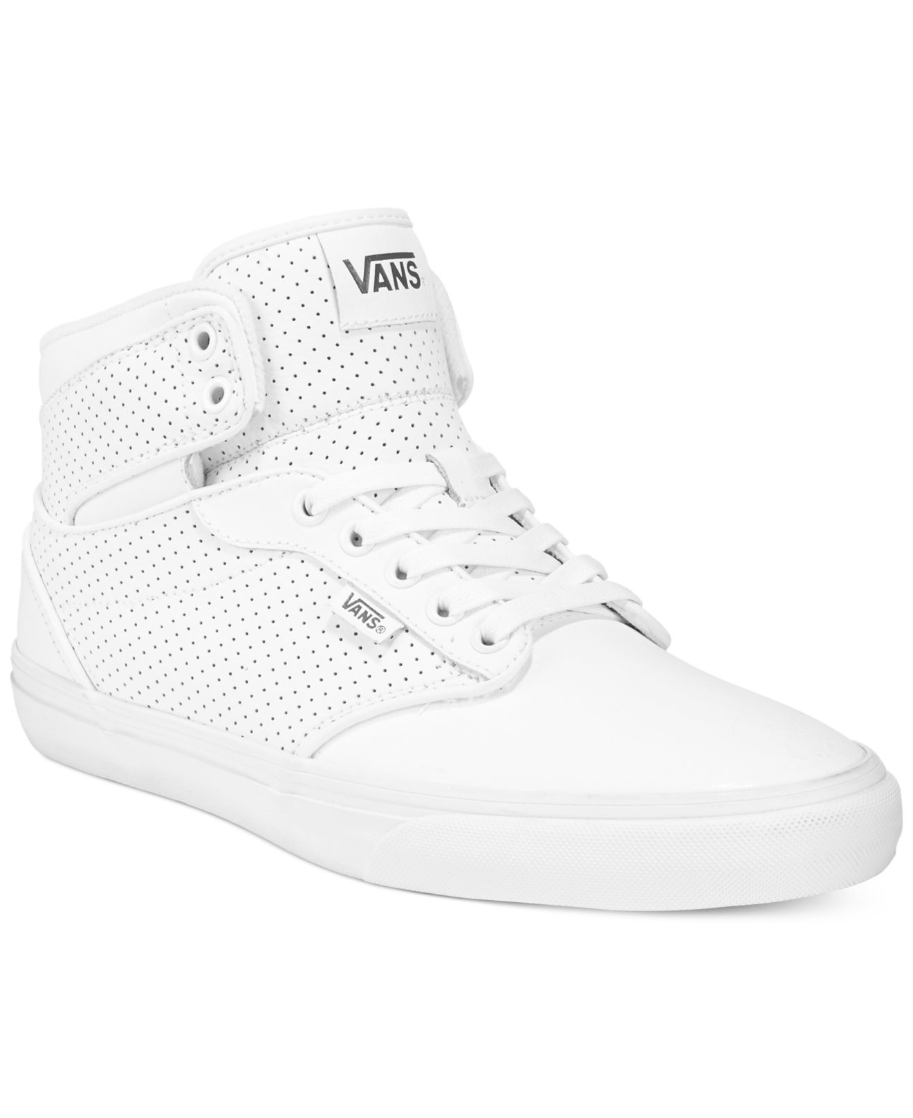 3f4e798fef2 Lyst - Vans Men s Atwood Hi-top Sneakers in White for Men