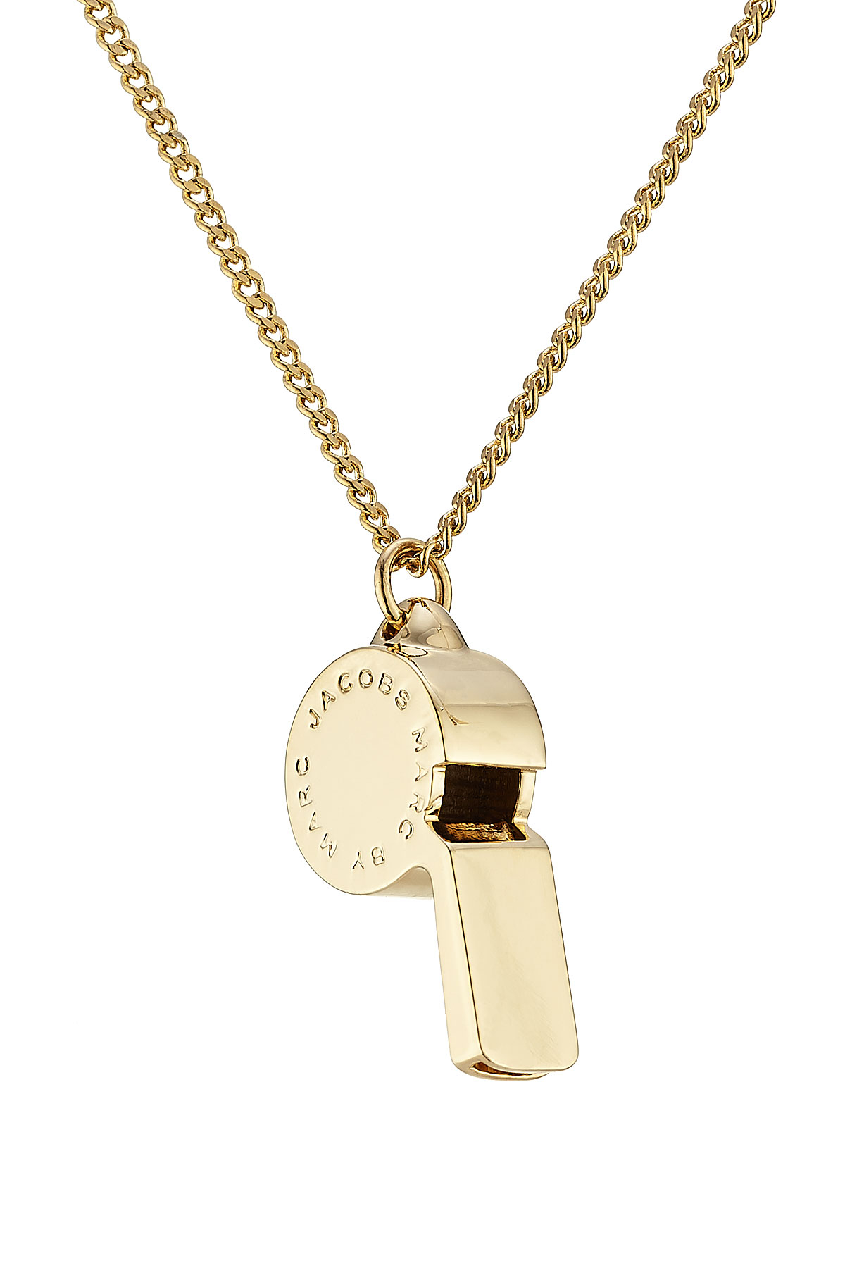 Marc By Marc Jacobs Lost Amp Found Whistle Necklace Gold