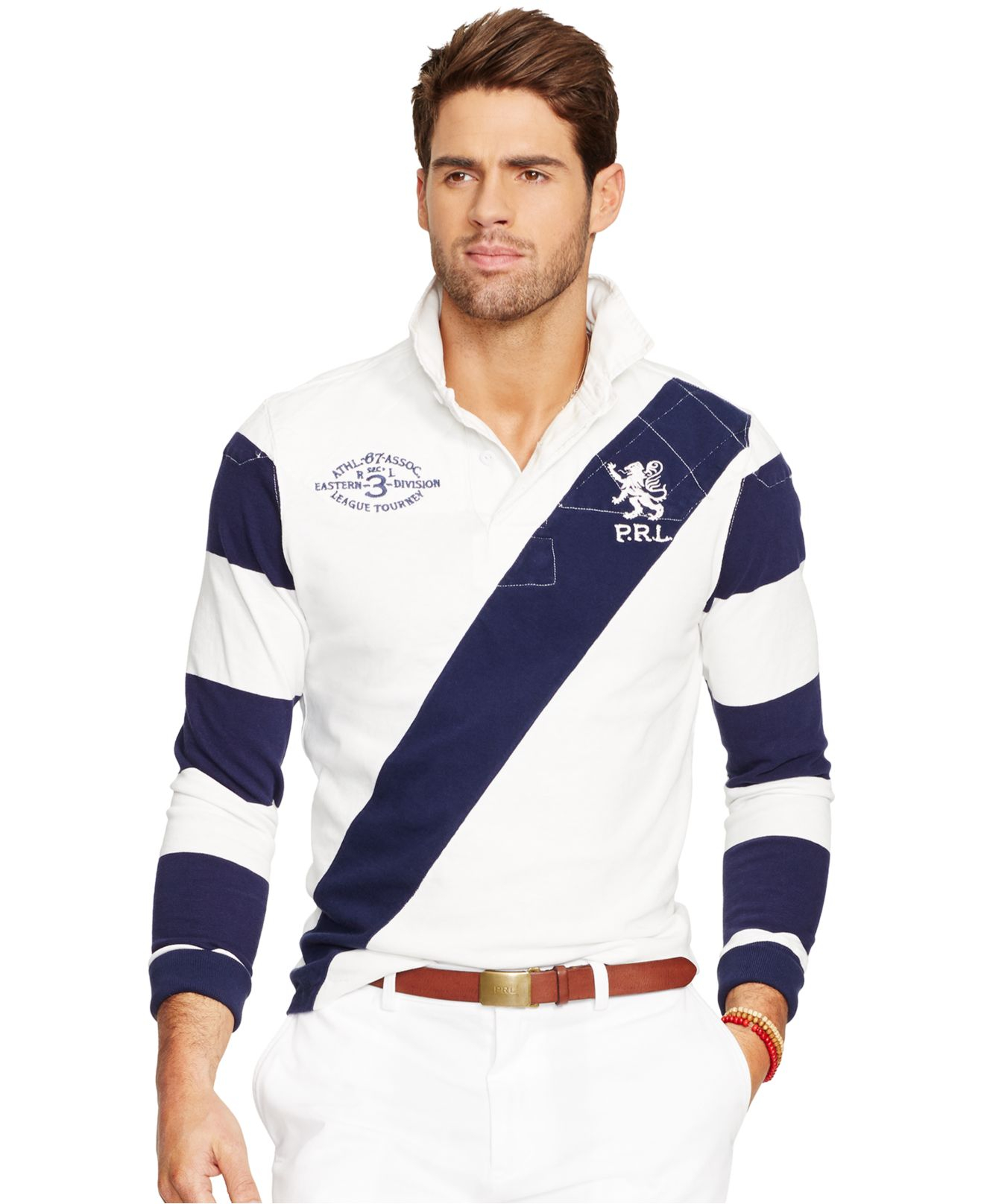15faaf80830db Polo Ralph Lauren Rugby Shirt Mens