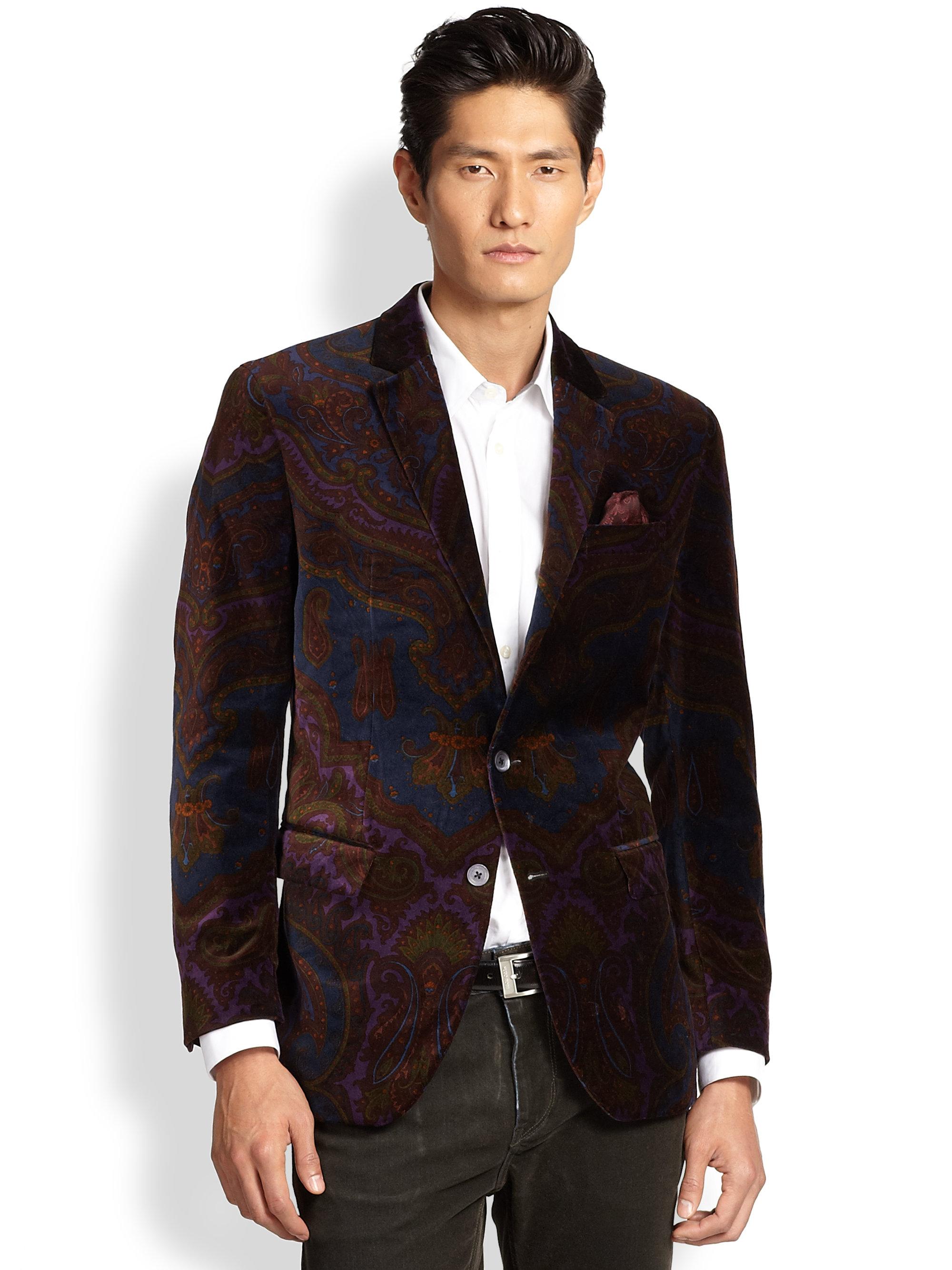 Robert Graham Rosedale Sportcoat in Multicolor for Men (No ... Robert Graham Designer