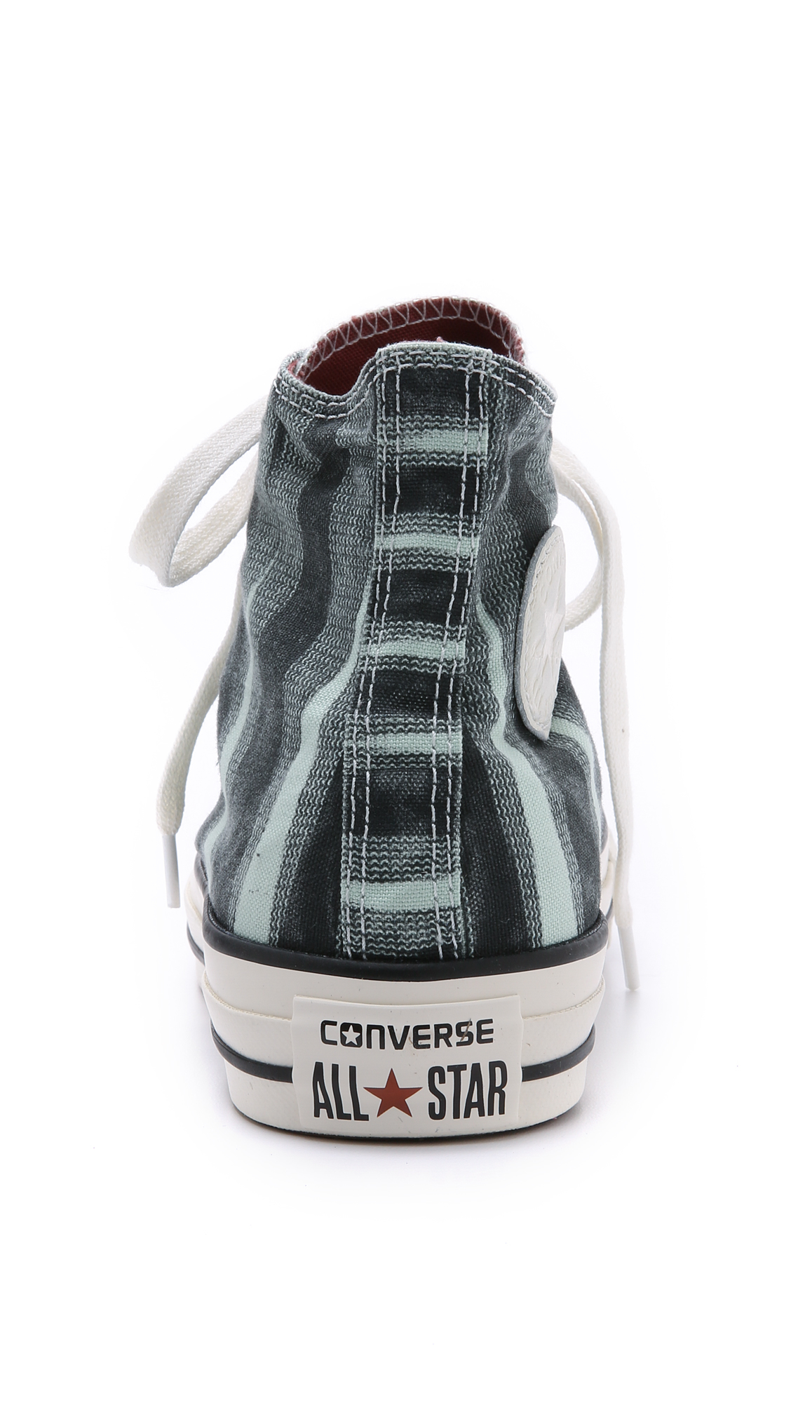 06695cb74d442 Converse Chuck Taylor All Star Missoni High Top Sneakers in Green - Lyst