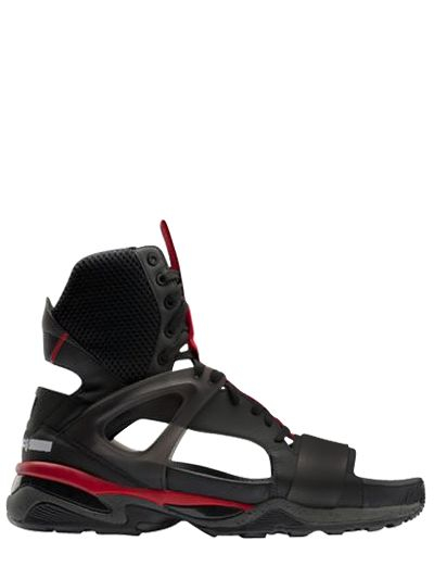 97f121a34715 Lyst - Puma Select Mcq Tech Runner High Top Sandal Sneakers in Red ...