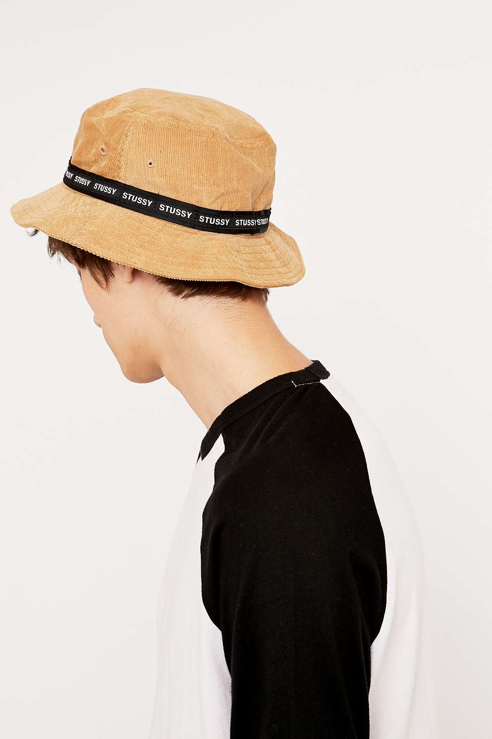 Stussy Tan Band Cord Bucket Hat in Natural for Men - Lyst 3e3939beb12