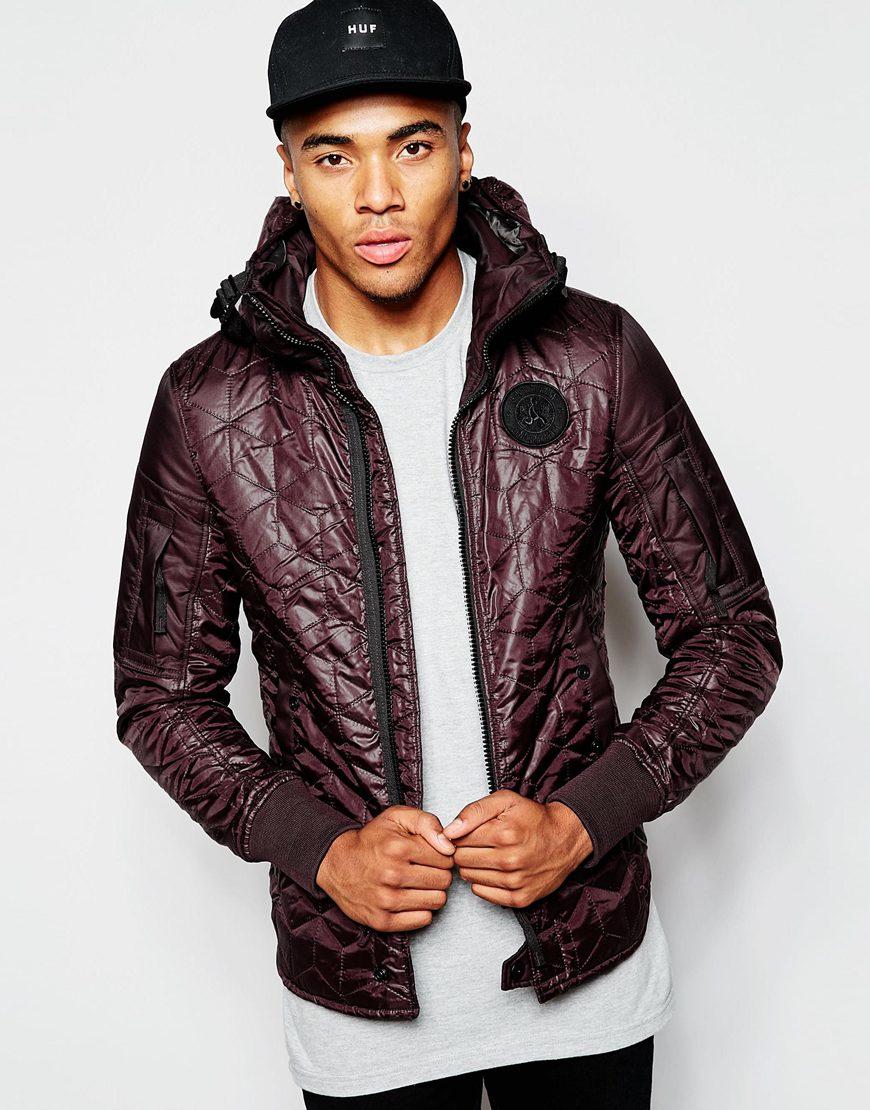 g star raw quilted hooded overshirt jacket battle myrow. Black Bedroom Furniture Sets. Home Design Ideas