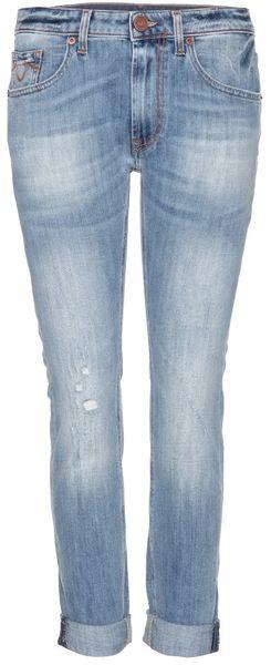 True Religion Grace Boyfriend Jeans in Blue | Lyst