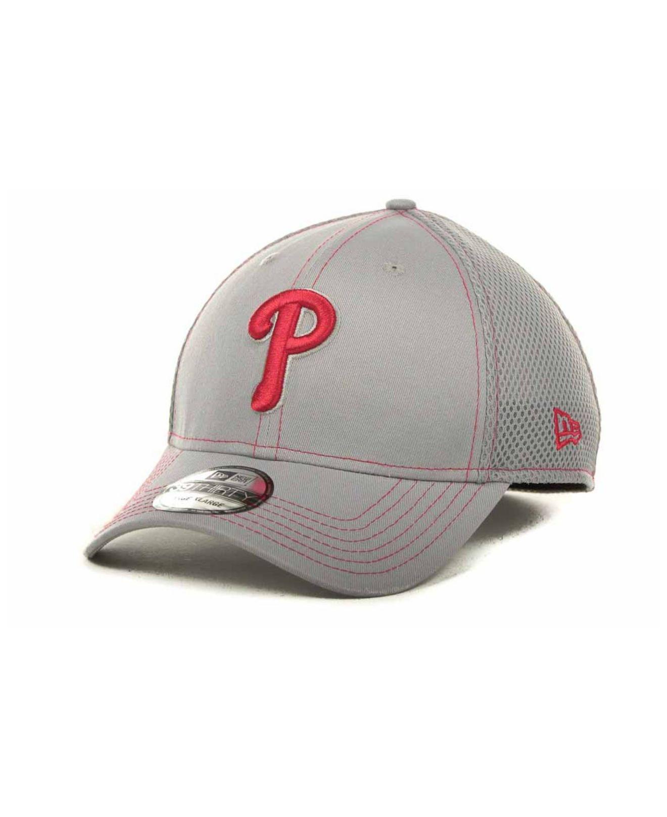 reputable site 95352 0f641 KTZ Philadelphia Phillies Gray Neo 39thirty Cap in Gray for Men - Lyst