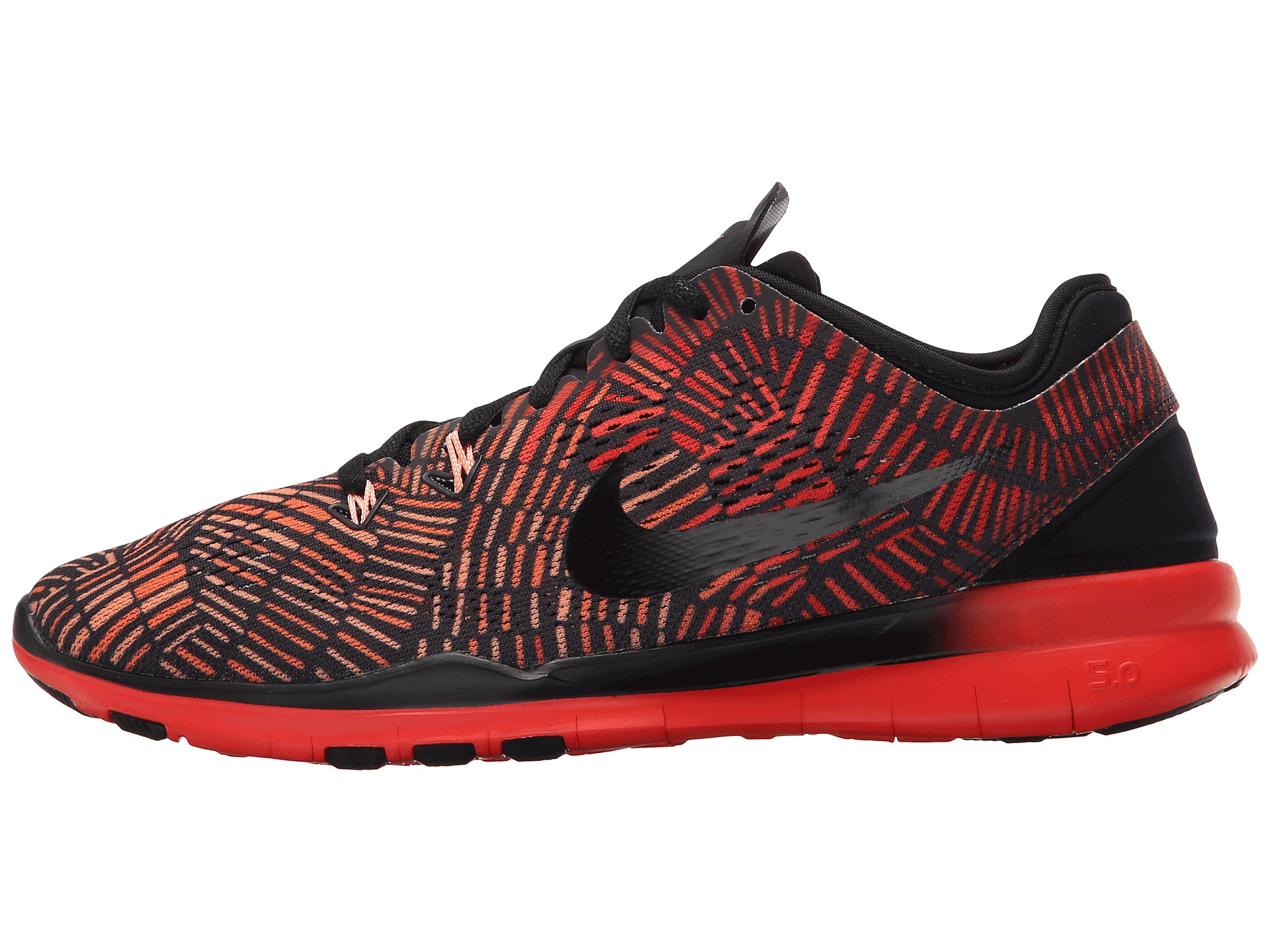 a0da7f8f5ff4c Lyst - Nike Free 5.0 Tr Fit 5 Prt in Red