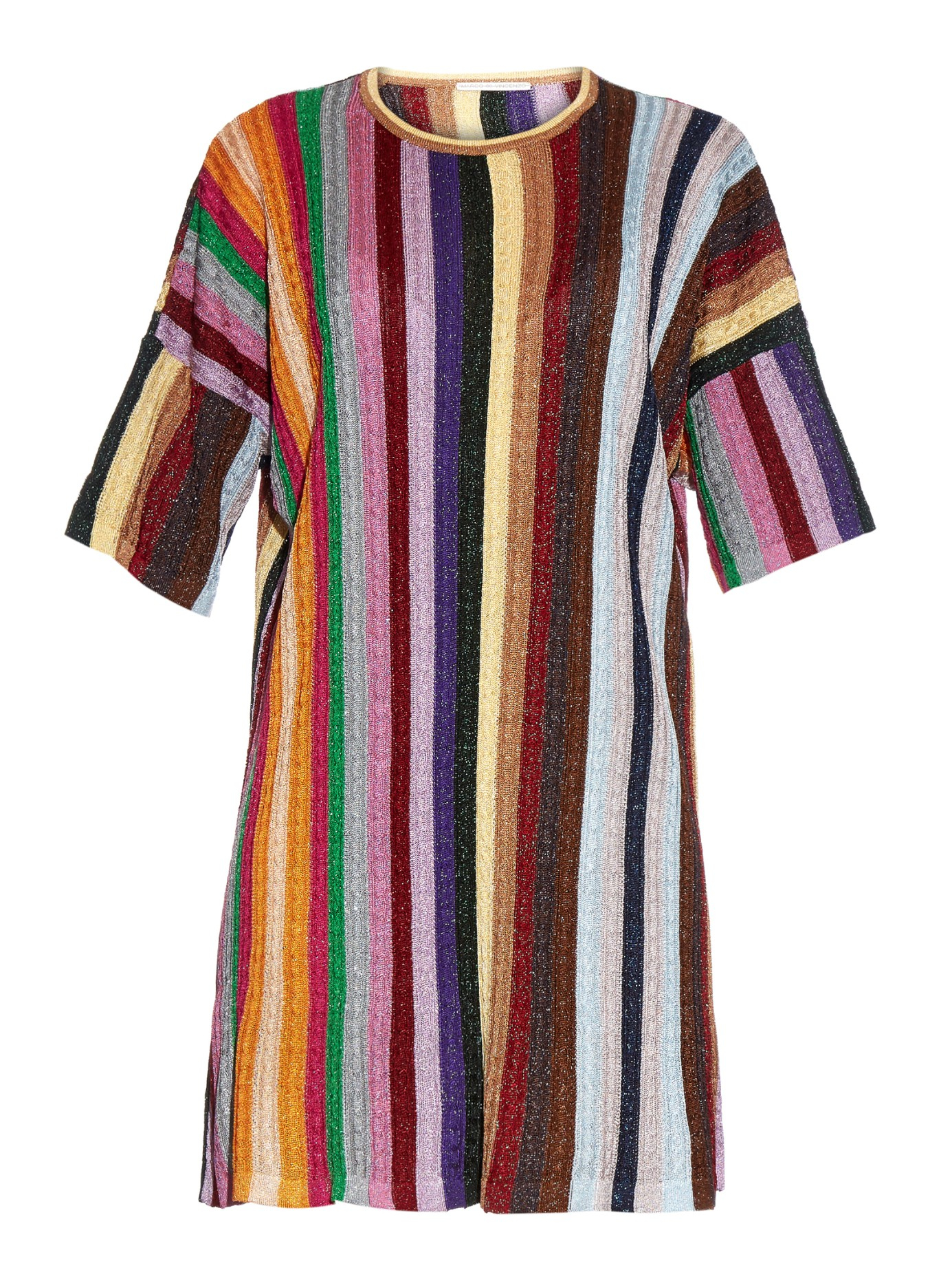 Cheap Sale Latest Collections tie knit dress - Pink & Purple Marco De Vincenzo Fashionable Online 100% Authentic Online Free Shipping 100% Guaranteed fUXr1Z