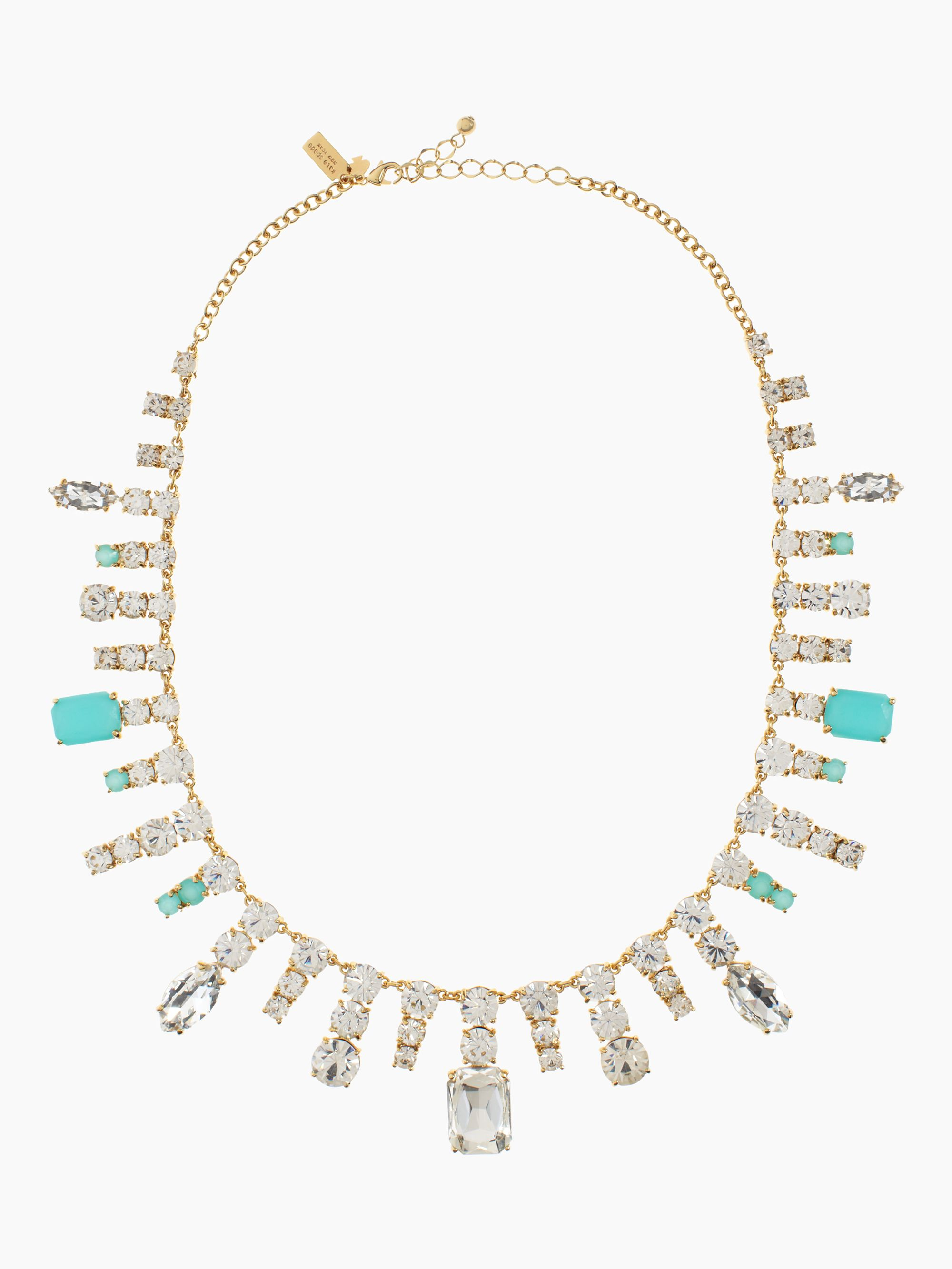 Kate spade new york Opening Night Spray Necklace in Blue