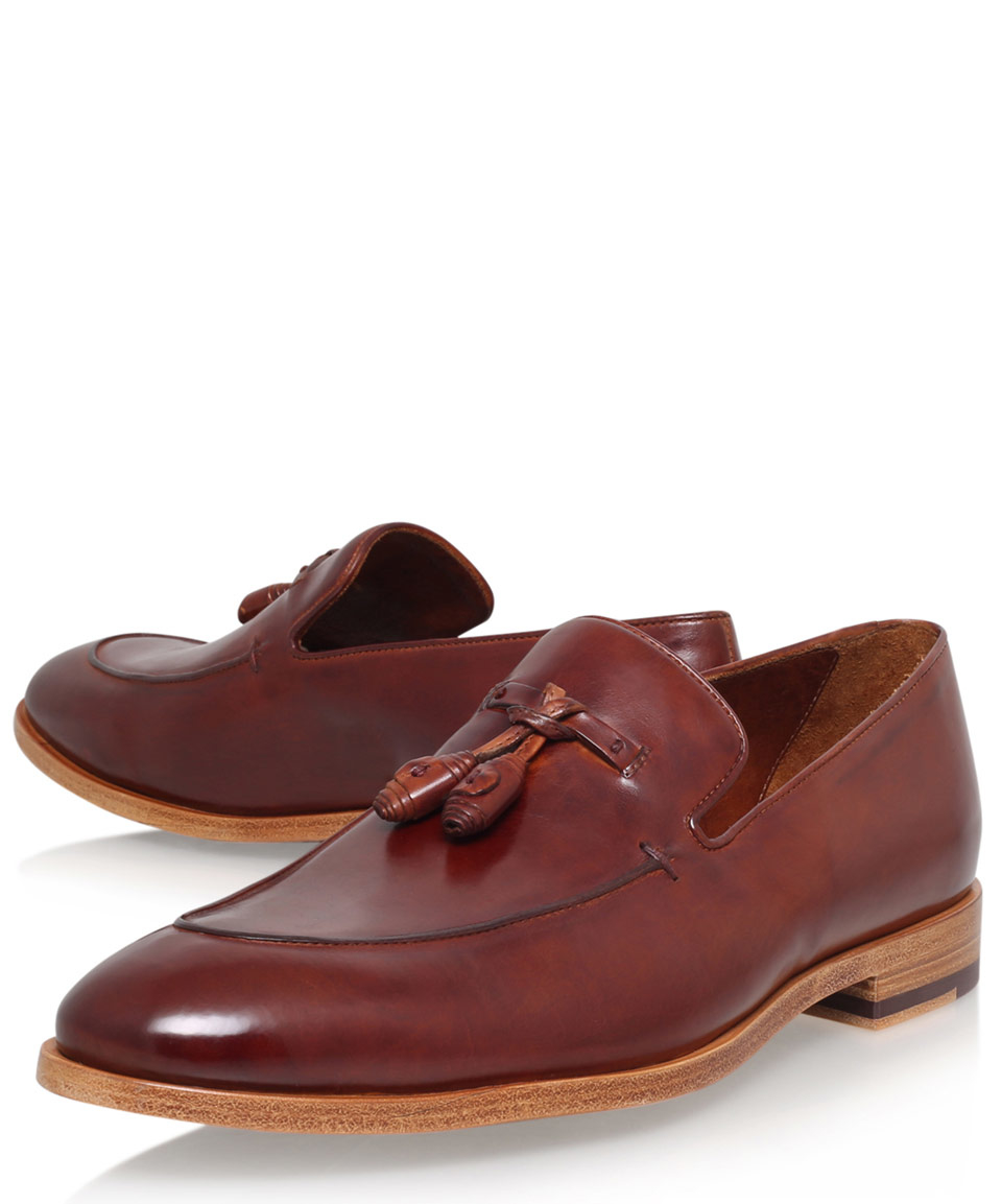 7a6ac22789a Paul Smith Brown Conway Tassel Loafers in Brown for Men - Lyst