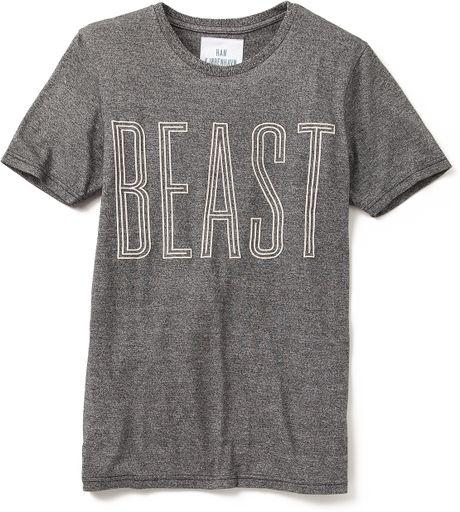 Han Kjobenhavn Beast T Shirt In Gray For Men Salt And