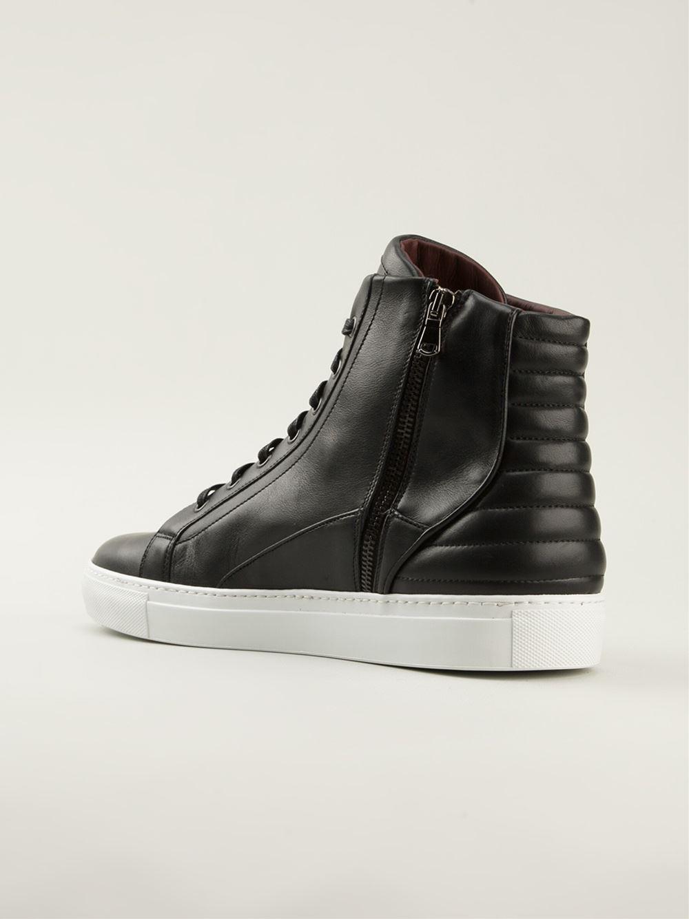 e2d5dc2e535 Casadei Pin Detail Sneakers in Black for Men - Lyst