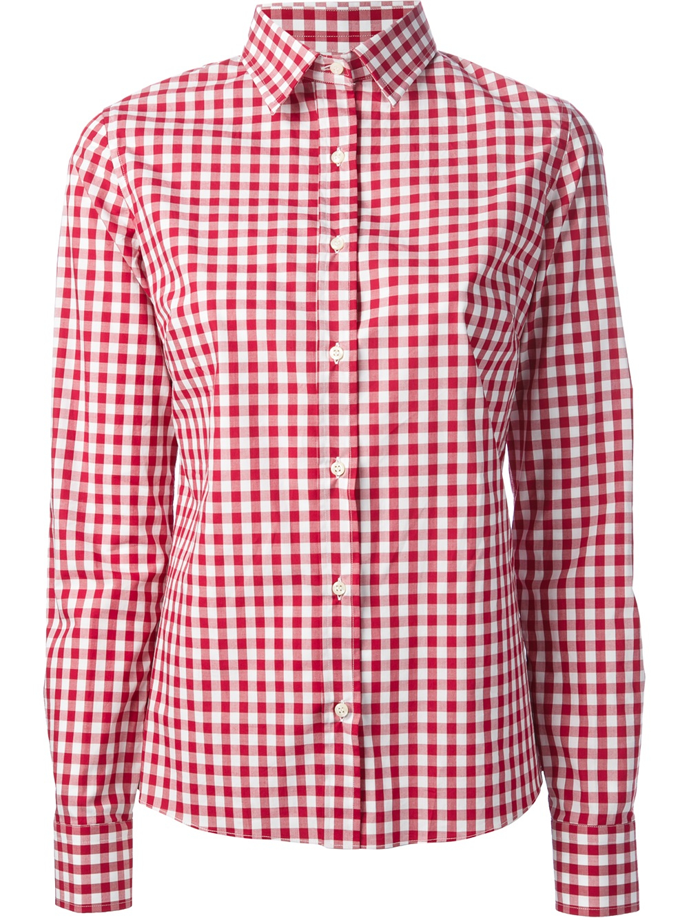 Womens Gingham Shirts