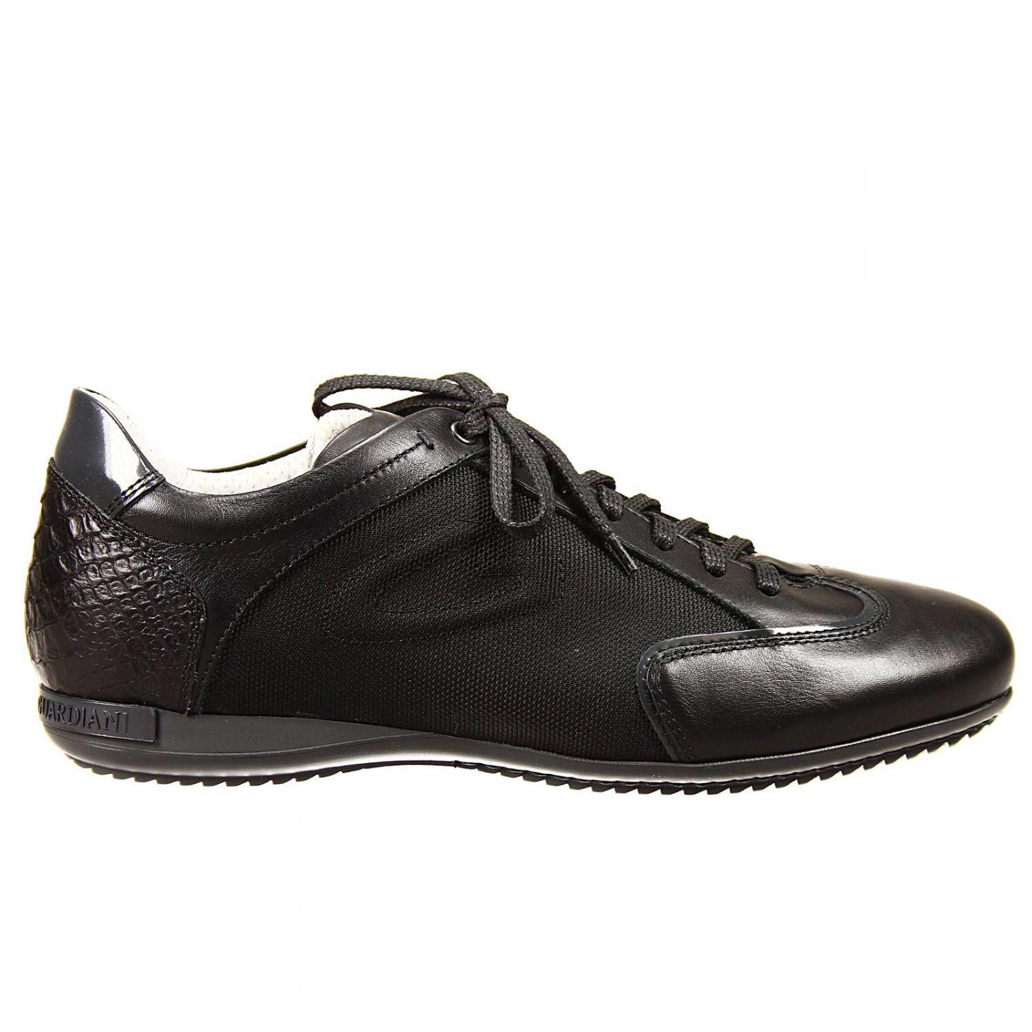 Alberto guardiani Lace Up Shoes Adler Sneaker Leather in