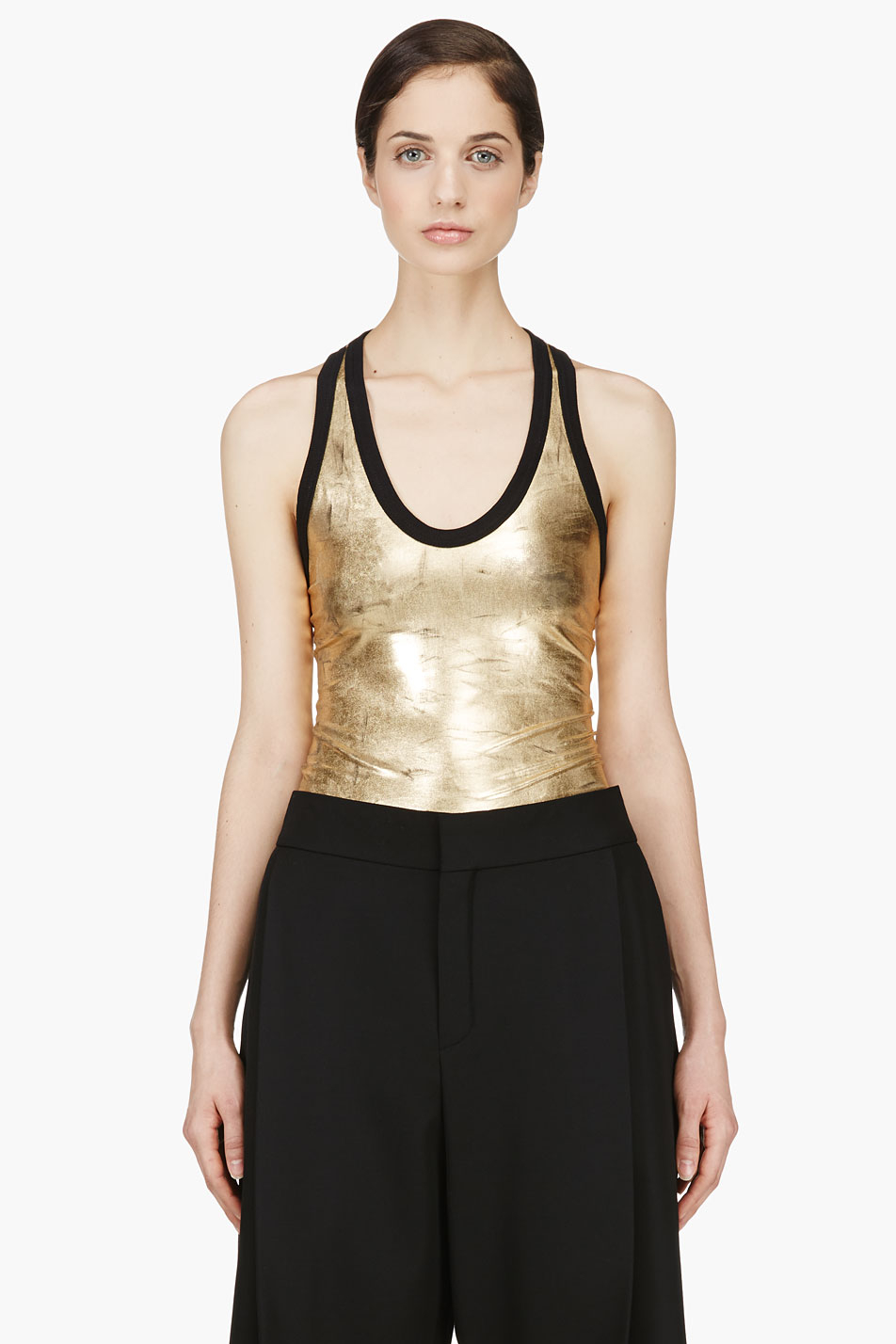 Our tank tops with trendy lace detail or velvet and satin fabrics are also the perfect addition to your going out outfit or dressier wardrobe. Our collection of classic plus size tank tops .
