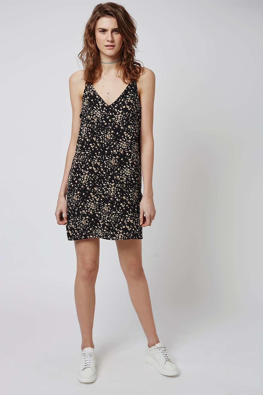f3ee71e4208c Topshop Leopard Print Slip Dress