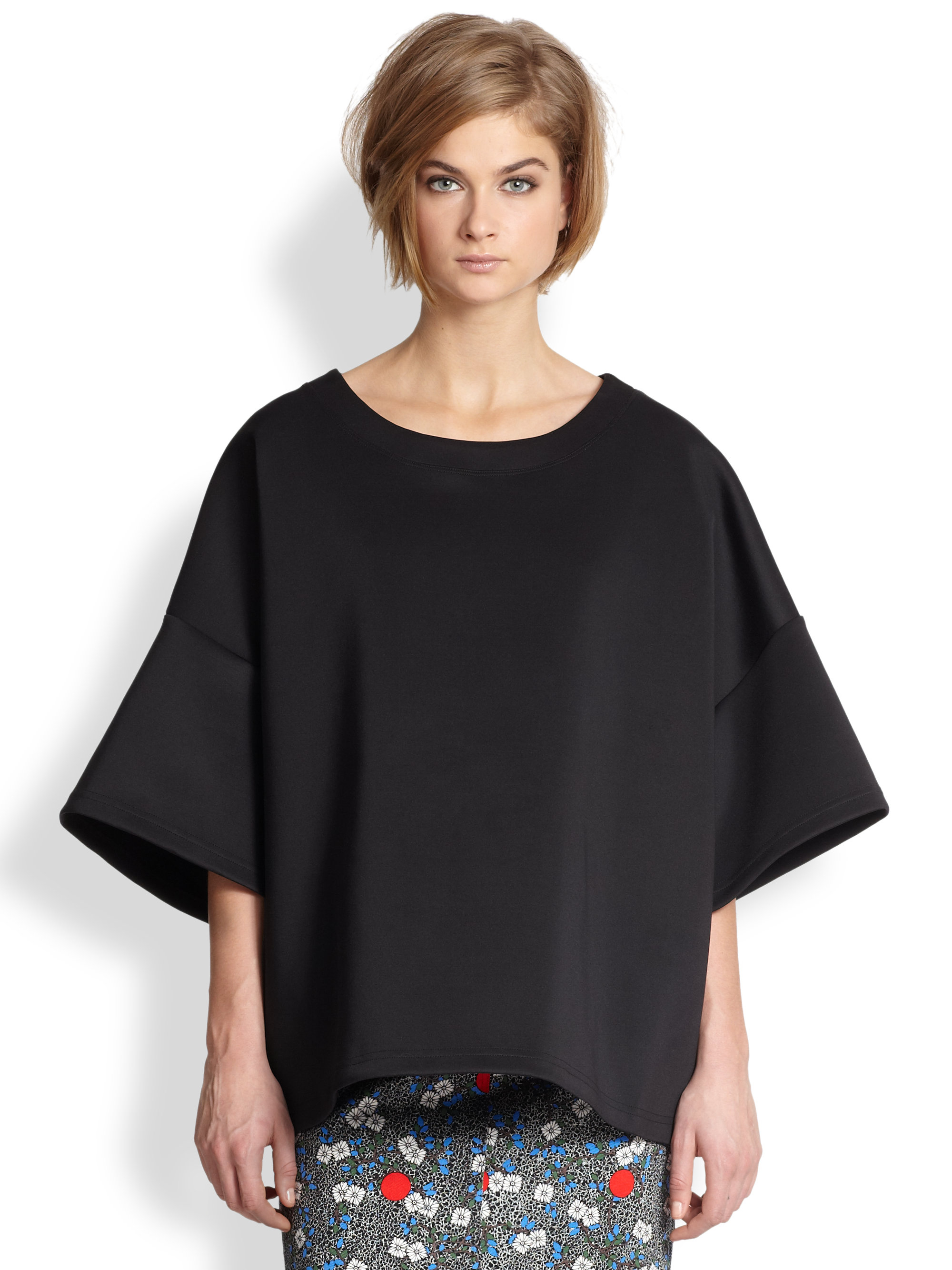Vivienne Westwood T Shirt Lyst Opening Ceremony Oversized Dropped Shoulder